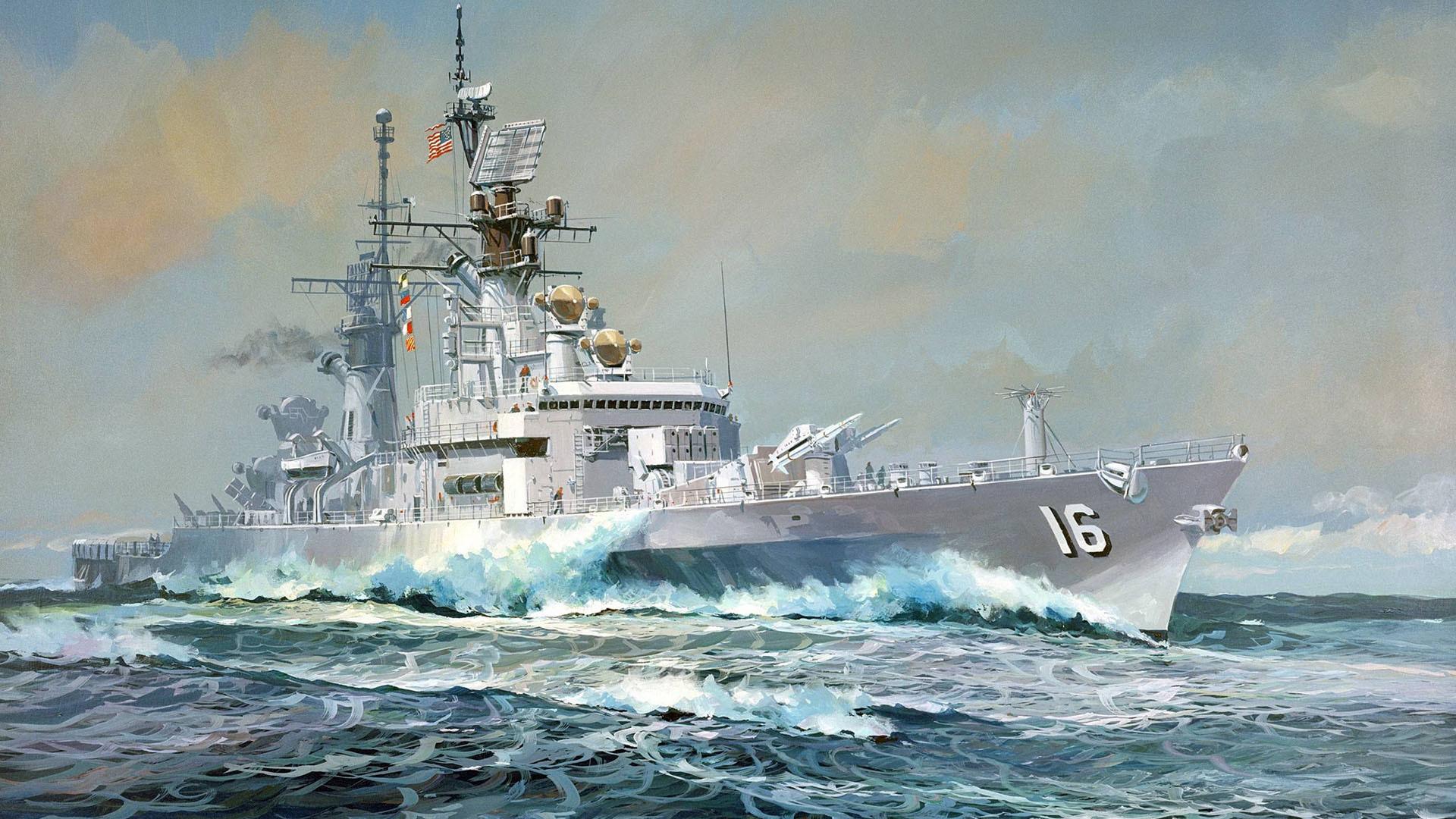 Navy Ship Wallpaper (64+ images)