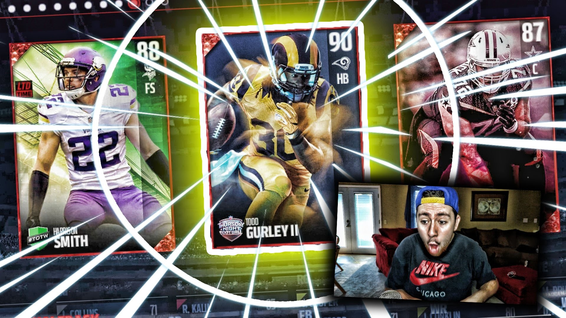 1920x1080 90 COLOR RUSH TODD GURLEY! | MADDEN 17 DRAFT CHAMPIONS CHALLENGE - YouTube