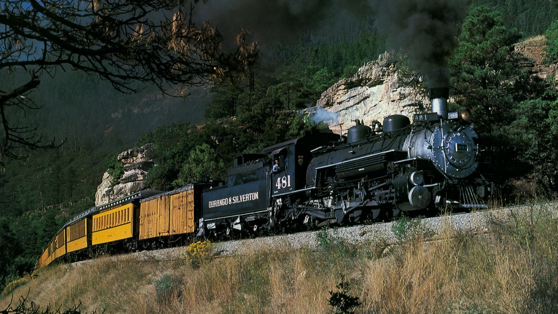 1920x1080 Train Tag - Trains Train Nature Mountain Desktop Wallpapers for HD 16:9  High Definition