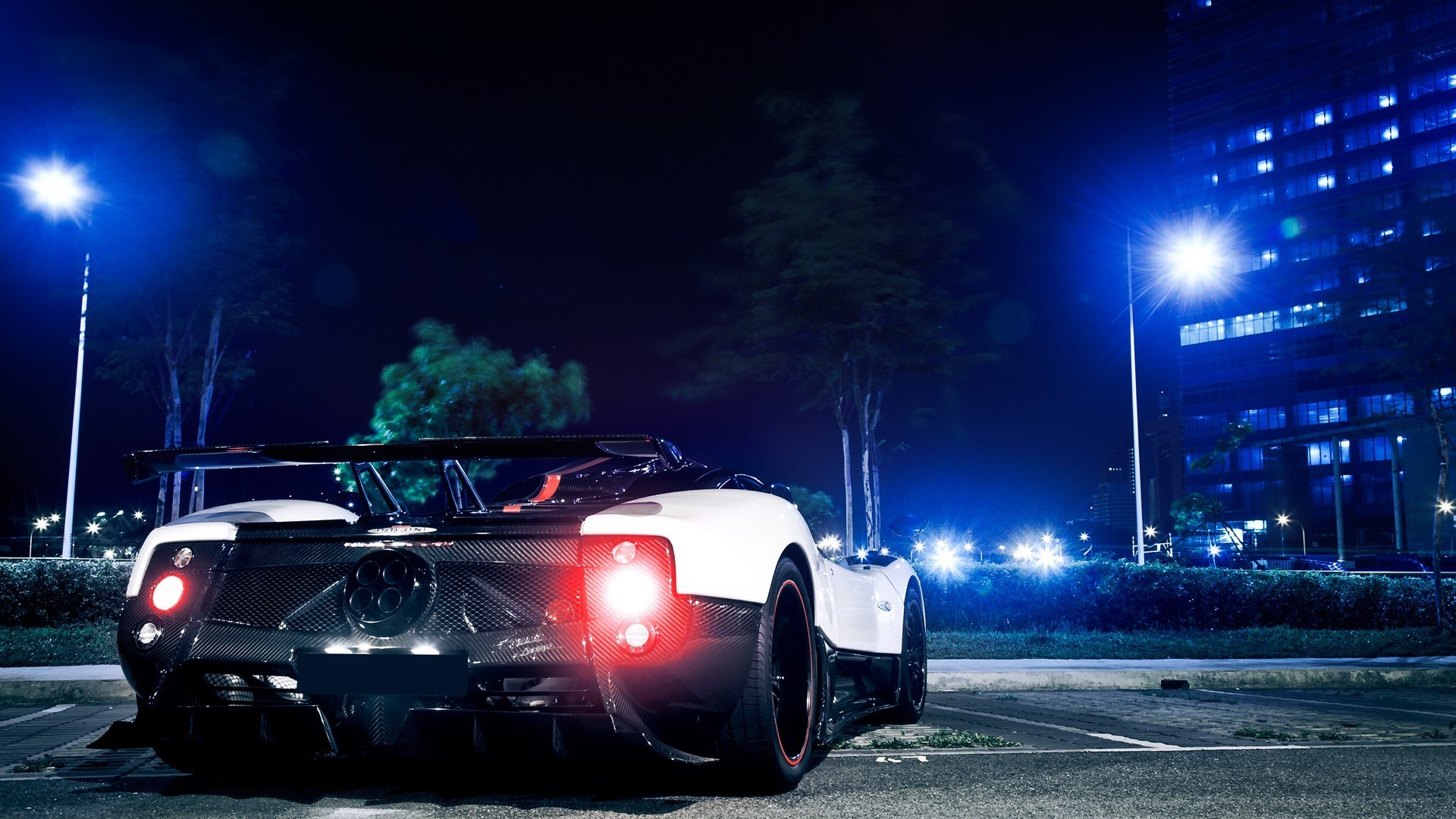 1920x1080 Pagani Zonda Cinque HD Desktop Wallpaper