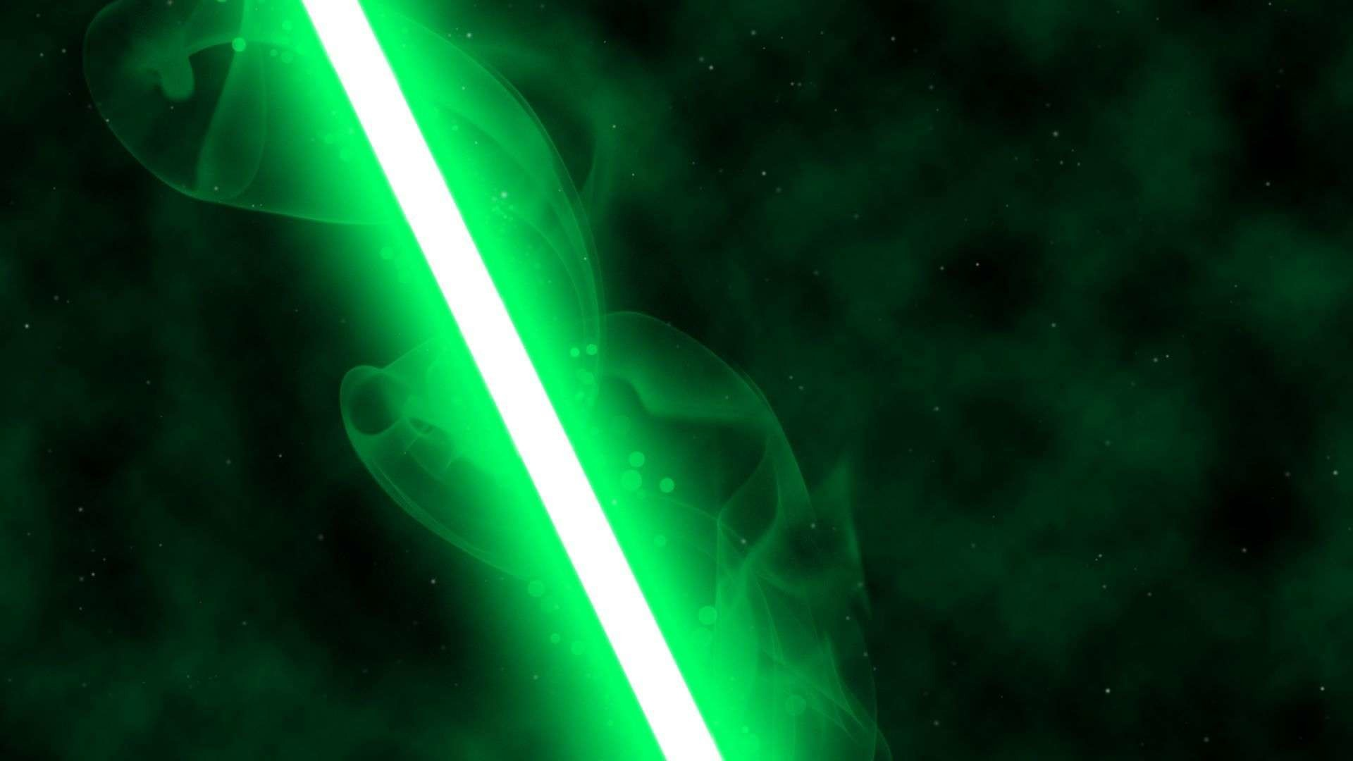 1920x1080 green lightsaber wallpaper