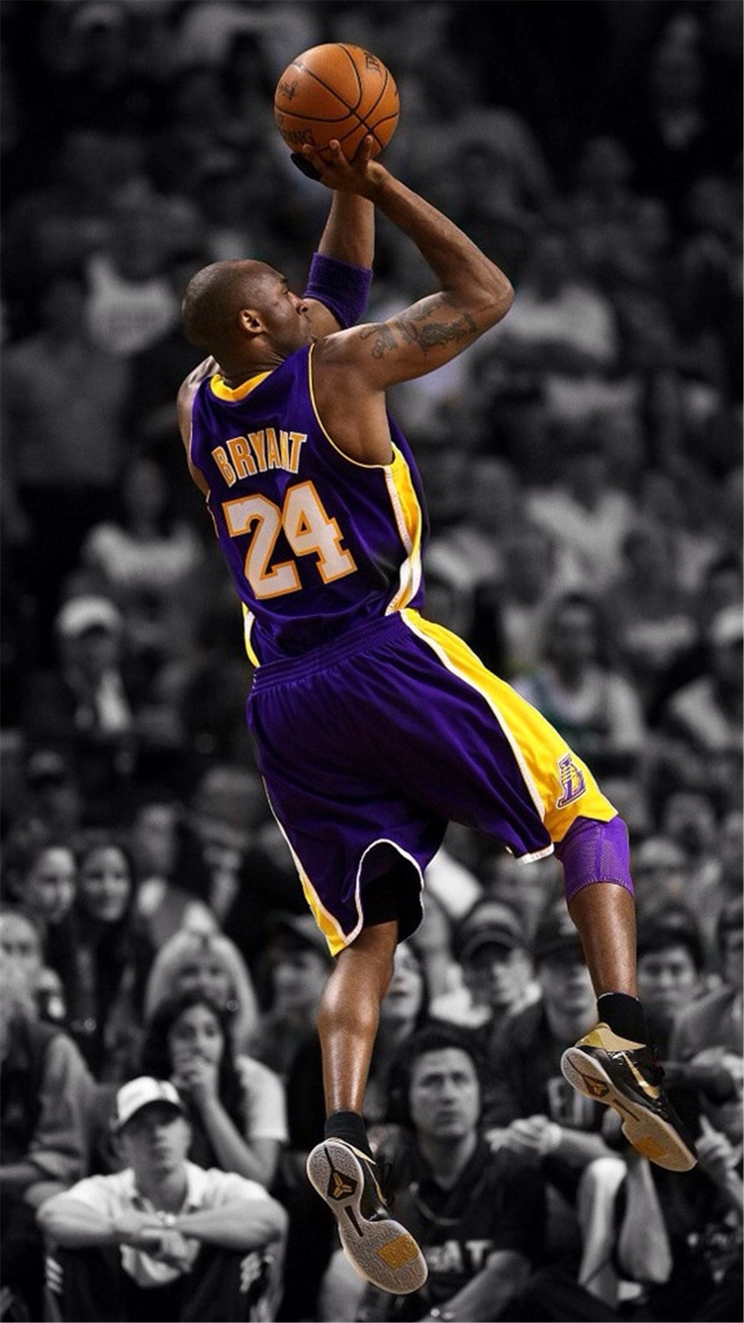 1080x1920 NBA Super Star Brant Kobe Show iPhone 6 wallpaper