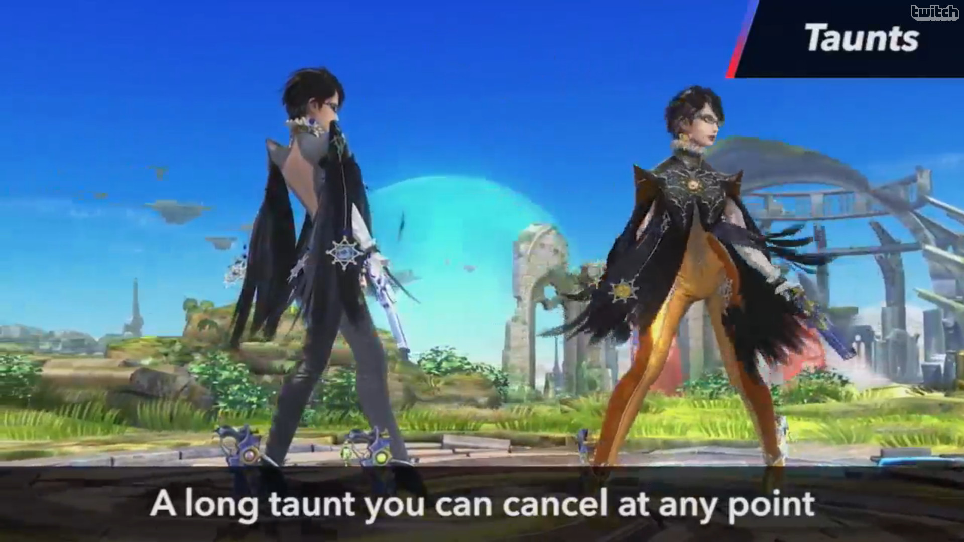 1920x1080 Taunts A long taunt you can cancel at any point
