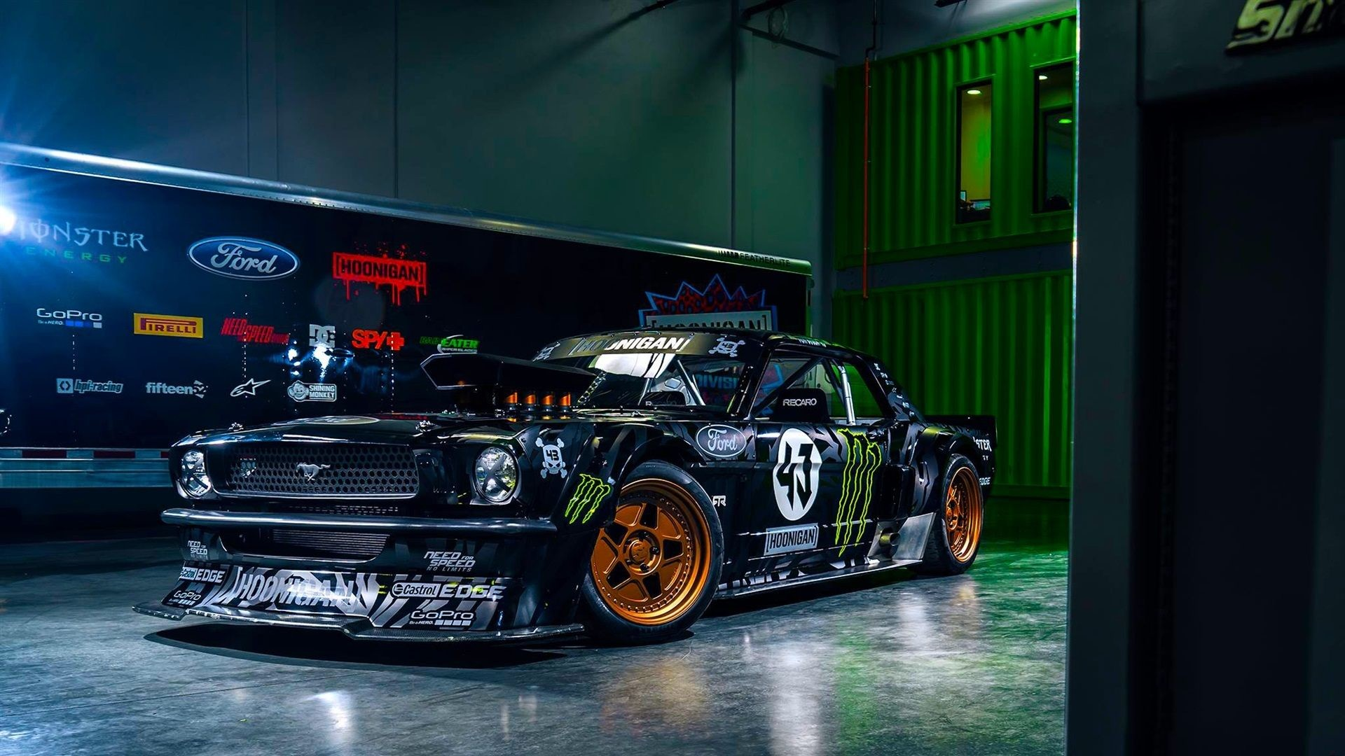 1920x1080 Ford Mustang RTR Classic Car Wallpaper