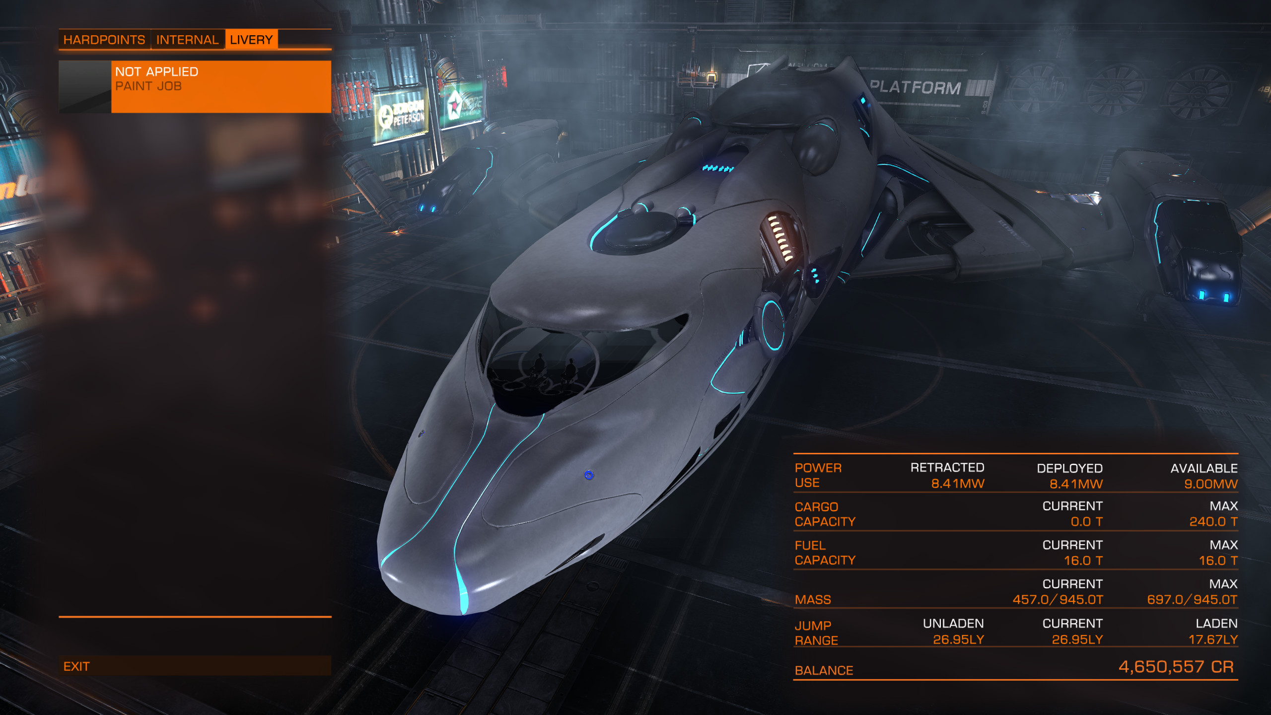 2560x1440 SLI adds smoother flying to the smooth looks of your Imperial Clipper in  Elite: Dangerous
