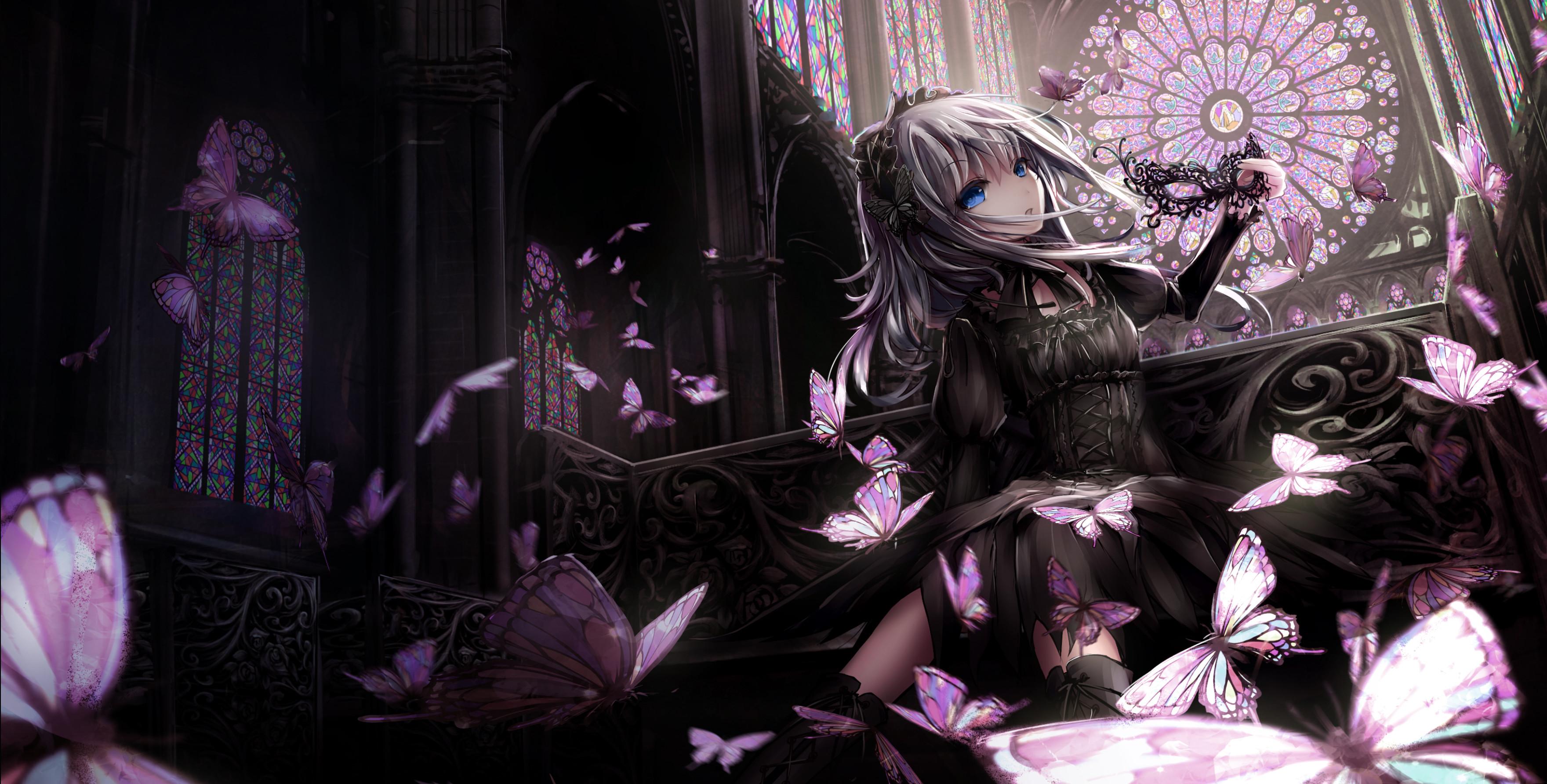 Image Result For Goth Anime Girl Wallpaper