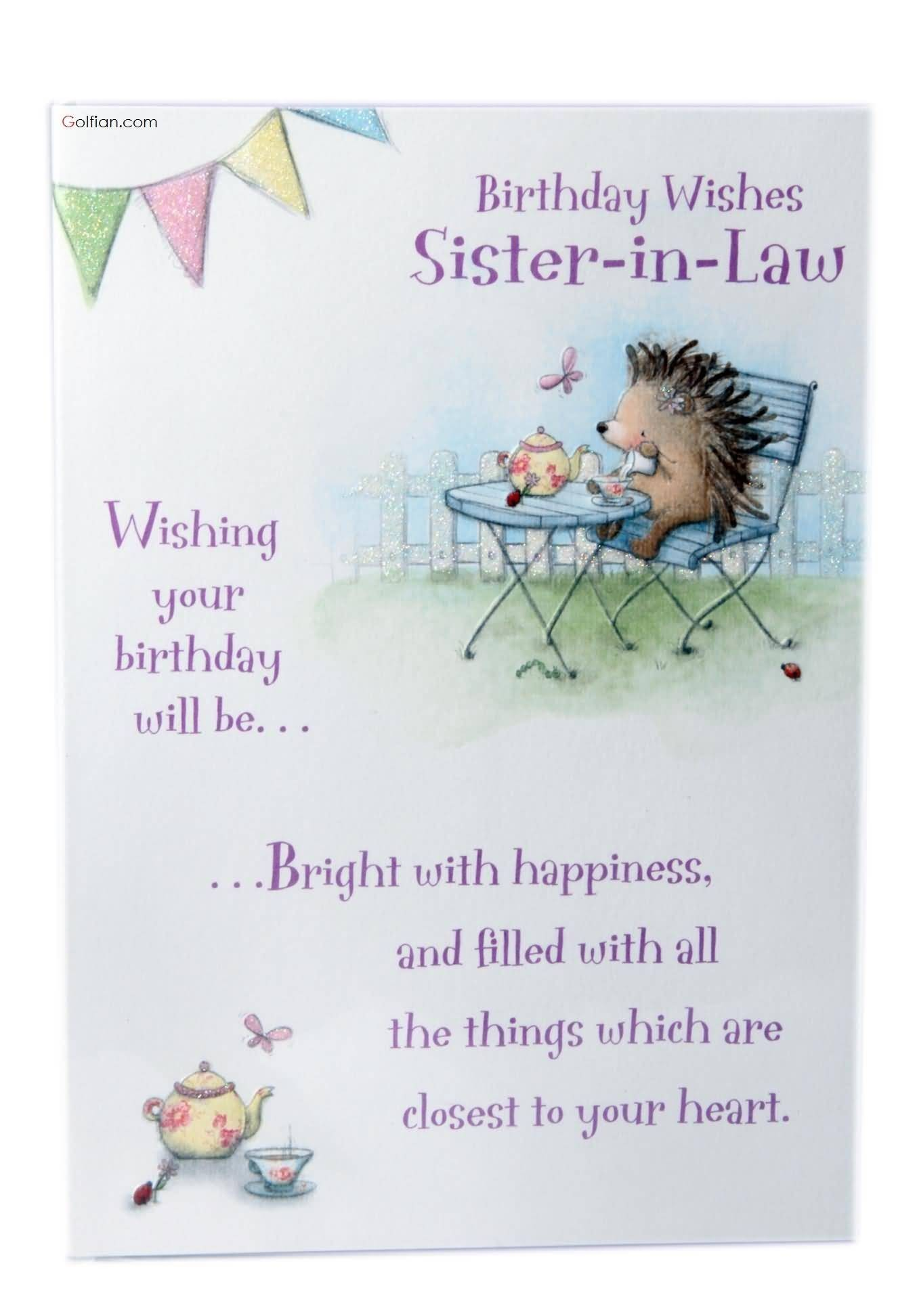 1354x1944 ... Birthday Quotes for Sister In Law Wonderful Most Beautiful Birthday  Wishes for Sister In Law Best