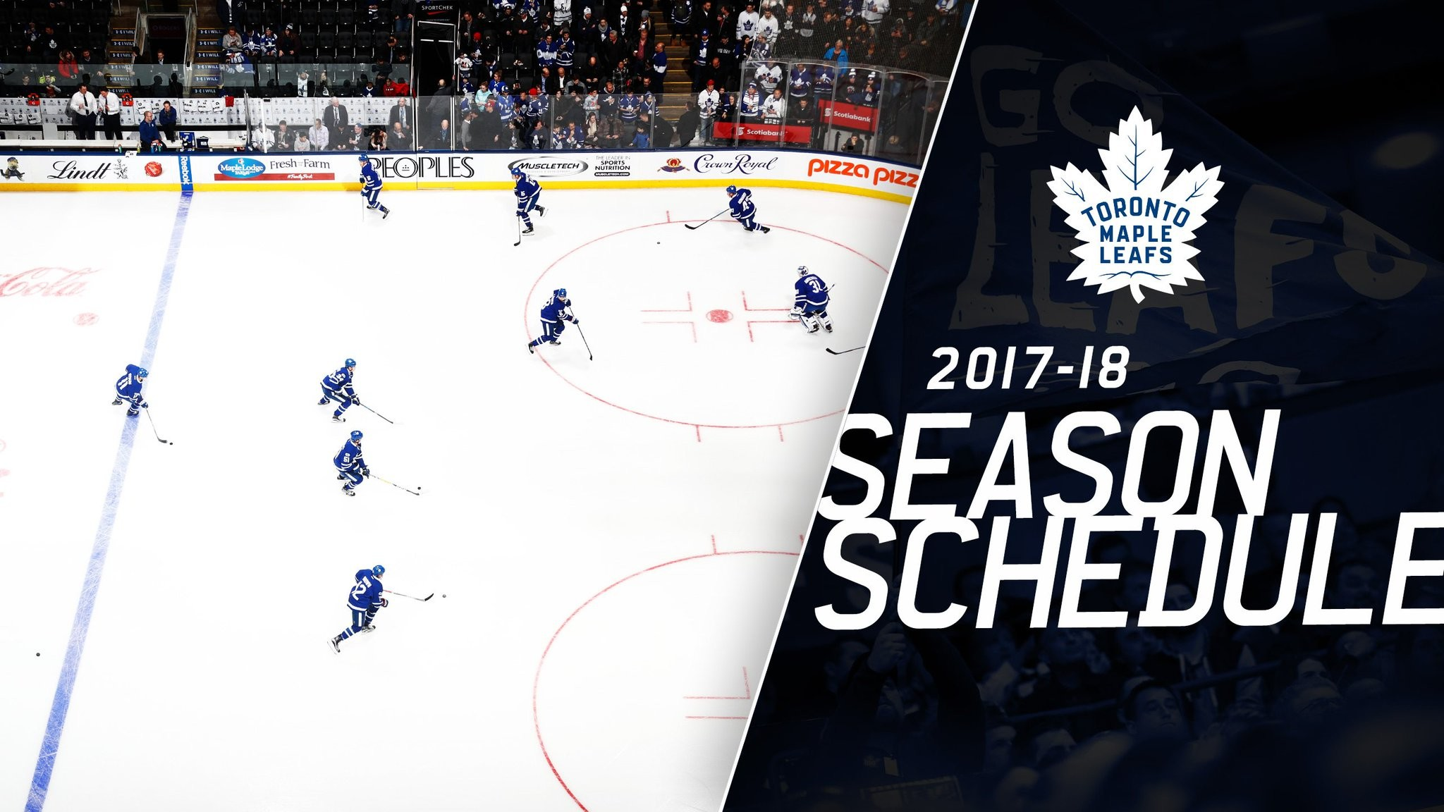 "2048x1152 Toronto Maple Leafs on Twitter: ""Mark your calendar. The 2017-18 @MapleLeafs  schedule is here. SCHEDULE ➡ https://t.co/OddwuQSNh6  https://t.co/RxX9djIw86"""