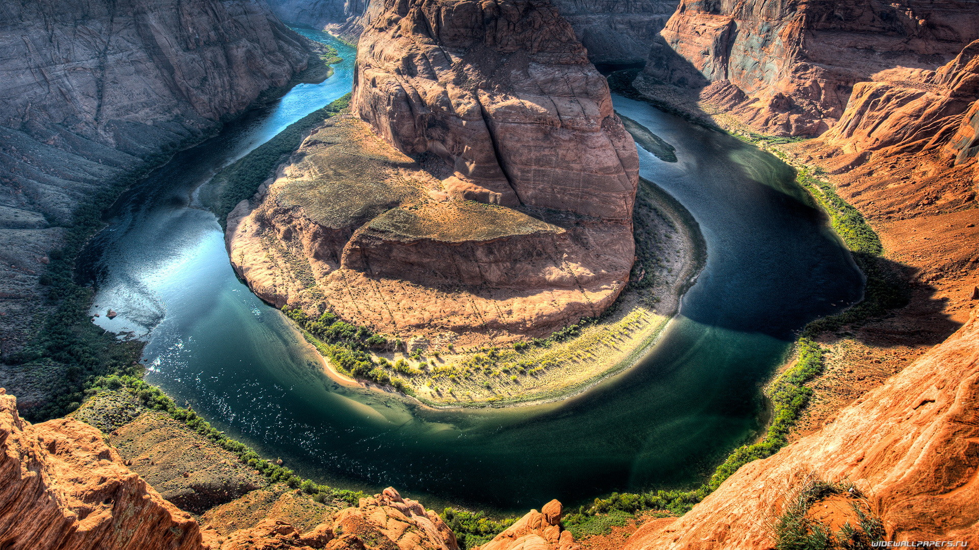 1920x1080 Earth - Horseshoe Bend Wallpaper