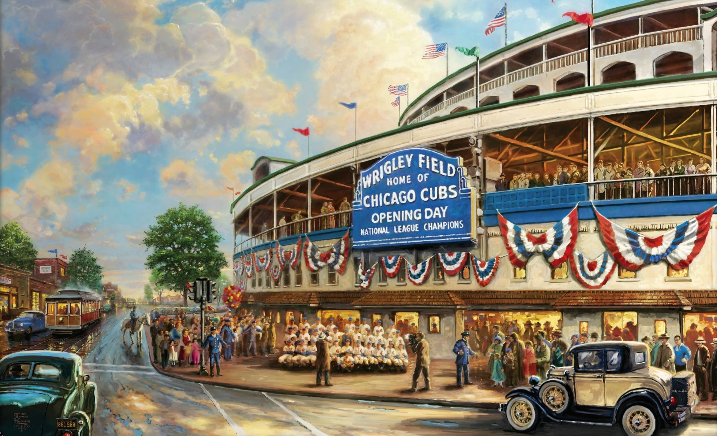 2315x1408 chicago cubs wallpaper | Home of chicago cubs street cars vintage HD  Wallpaper