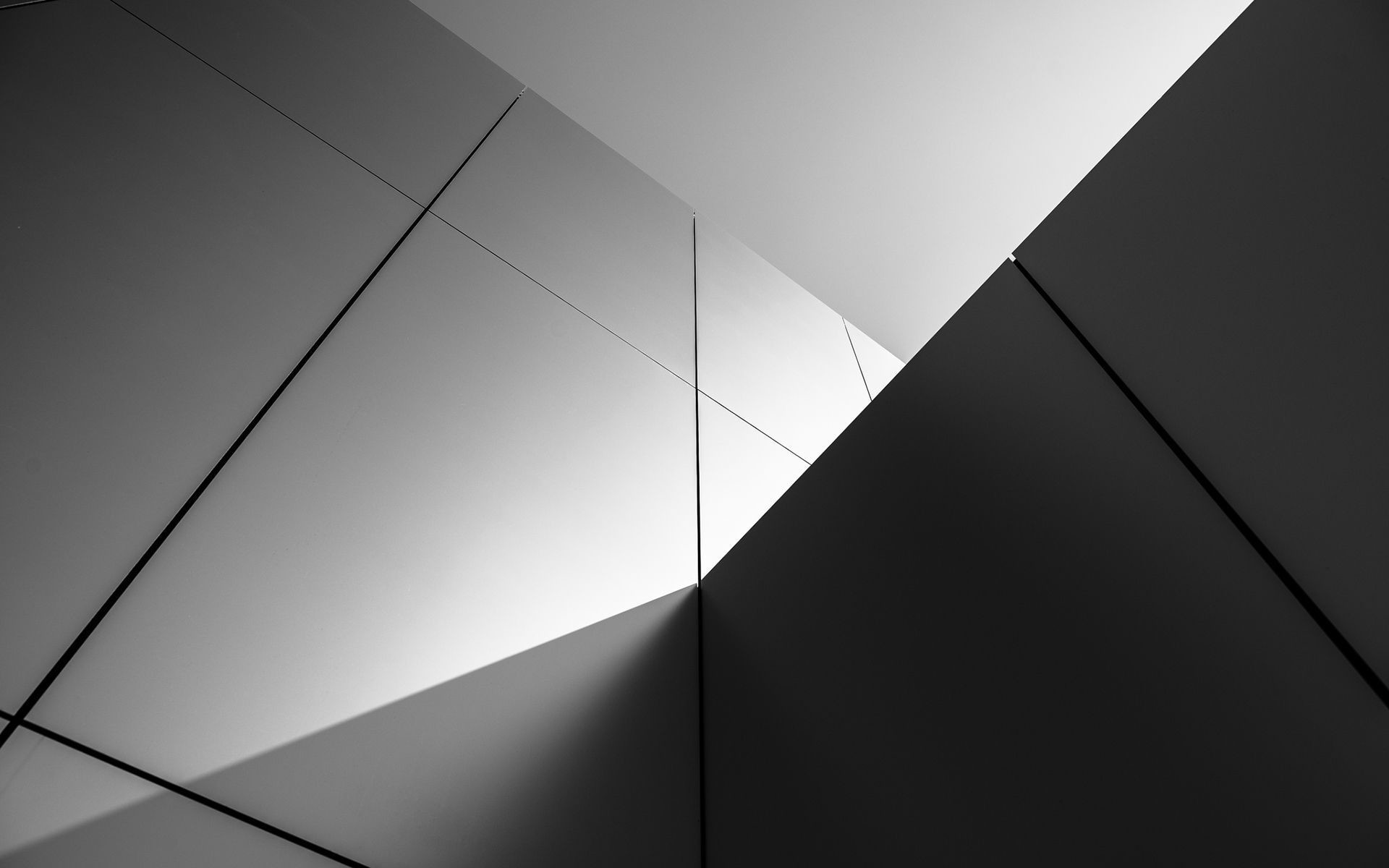 1920x1200 Buildings wall abstract black white wallpaper