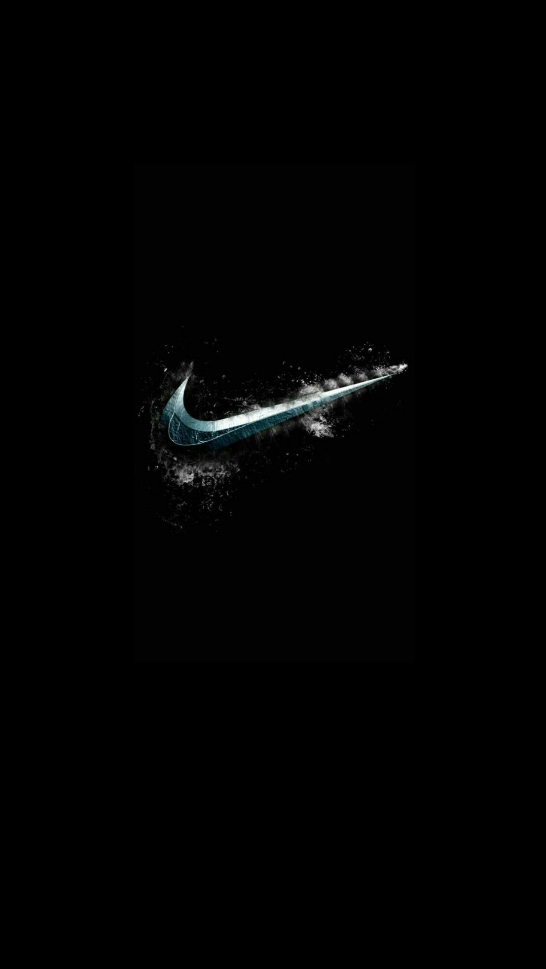 1107x1965 Photo Collection Nike Swoosh Wallpapersblack Wallpaper