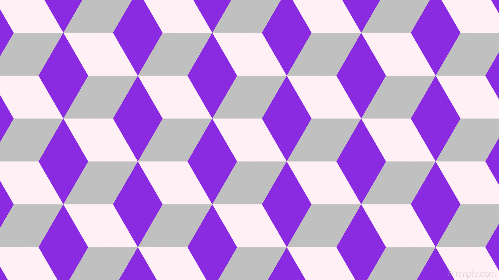 1920x1080 wallpaper purple 3d cubes grey white lavender blush blue violet silver  #fff0f5 #8a2be2 #