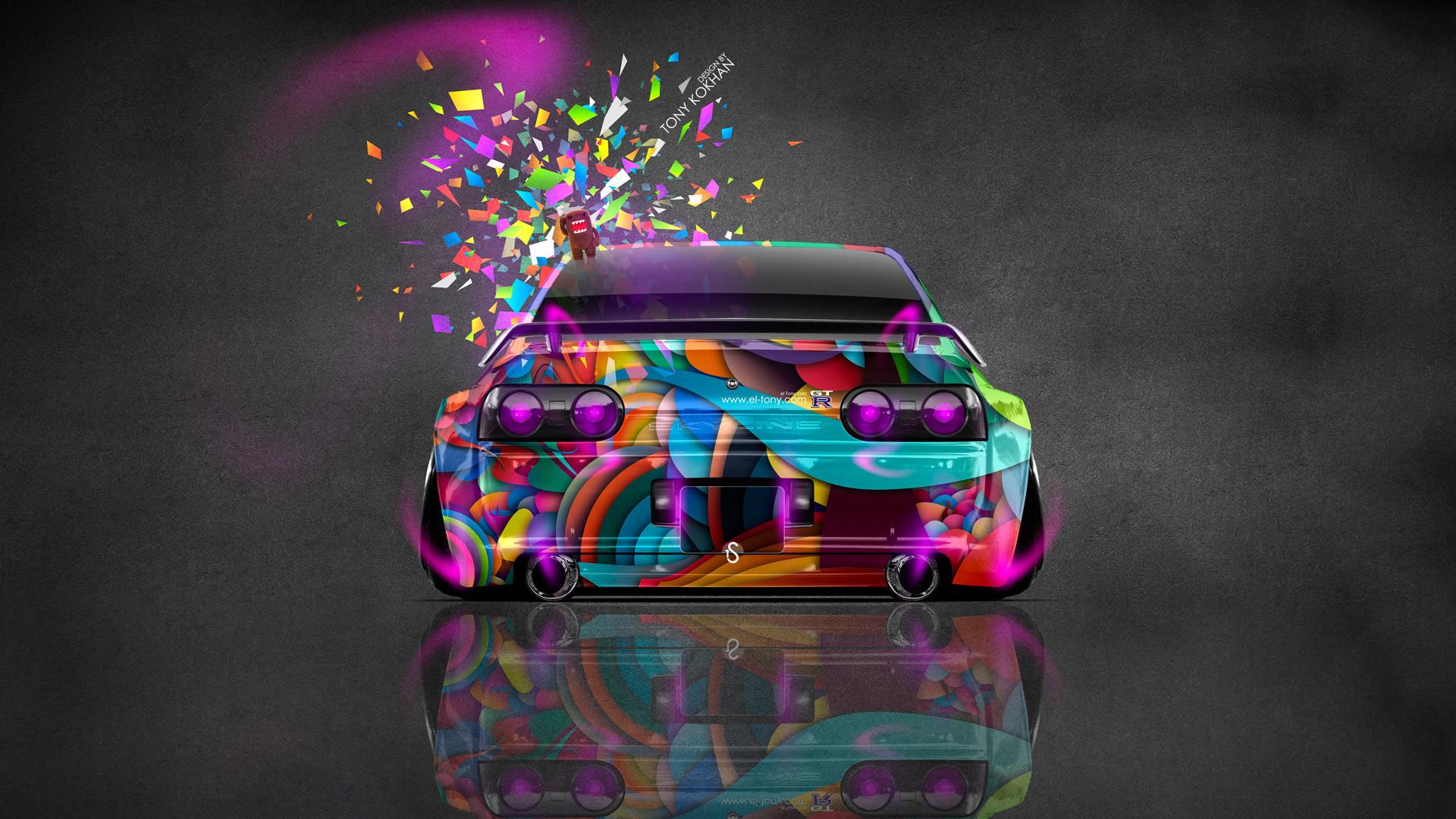 Nissan Skyline GTR R32 JDM Back Fire Car 2014
