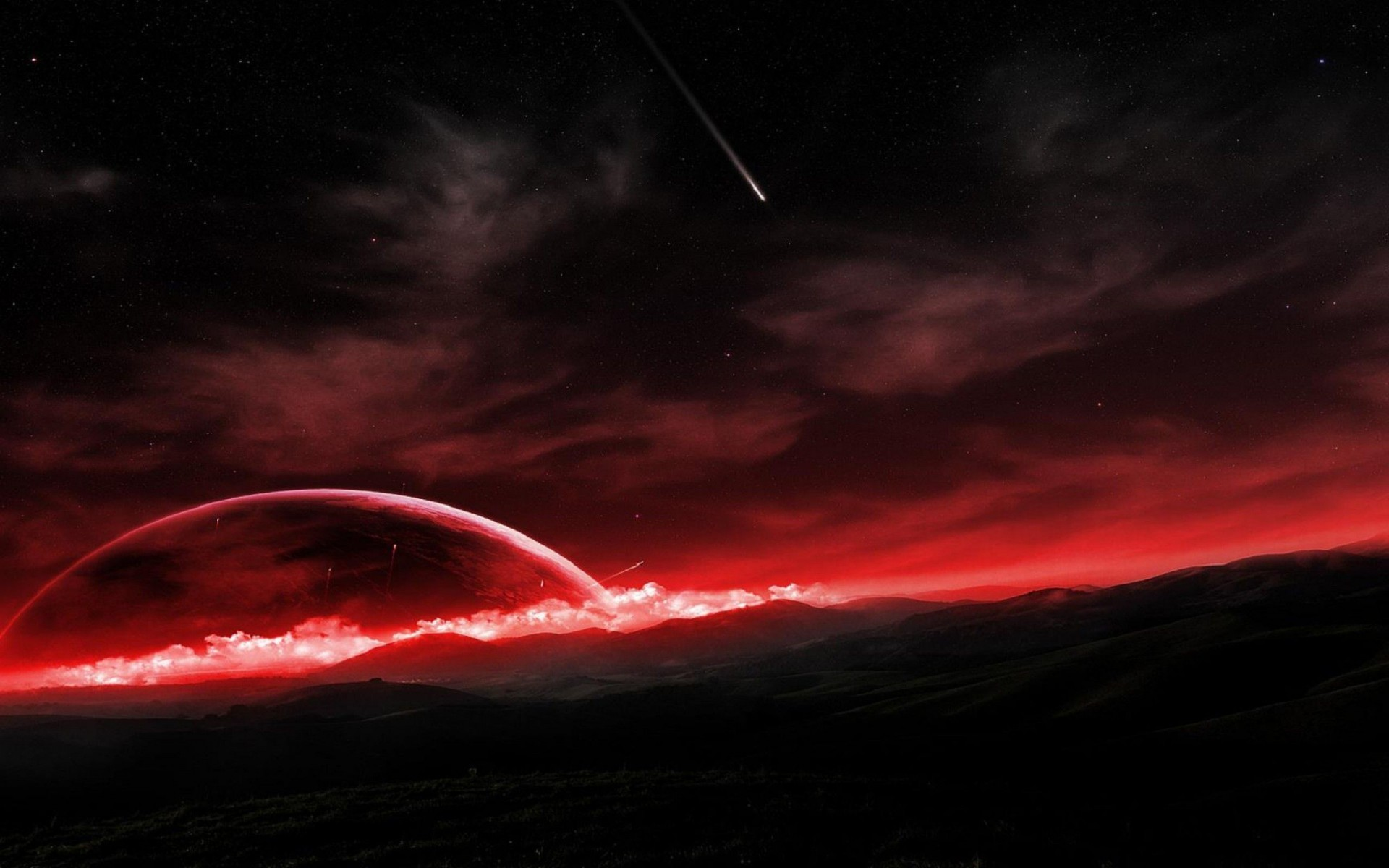 Awesome Black and Red Wallpapers (64+ images)
