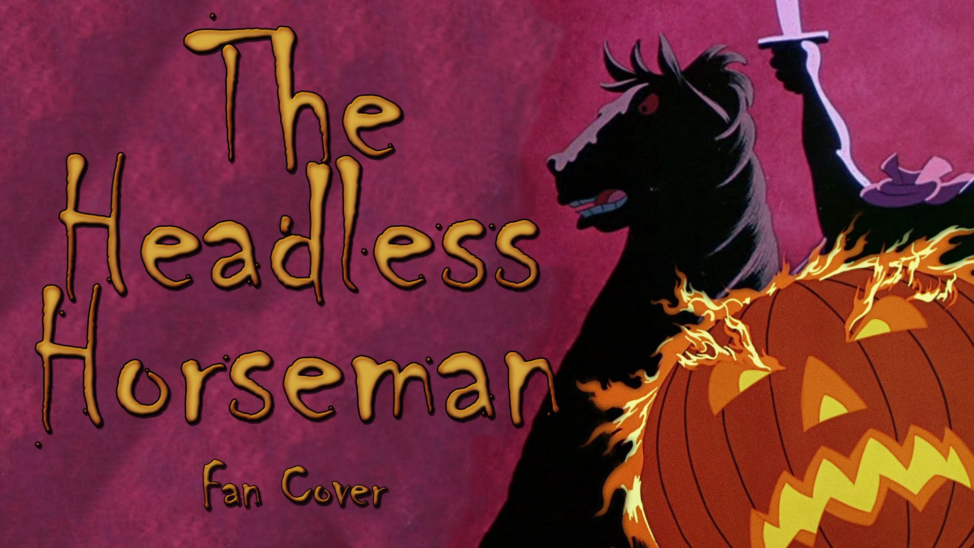 1920x1080 The Headless Horseman - Legend of Sleepy Hollow fan cover (Disney Villain  Month) [RtG] - YouTube