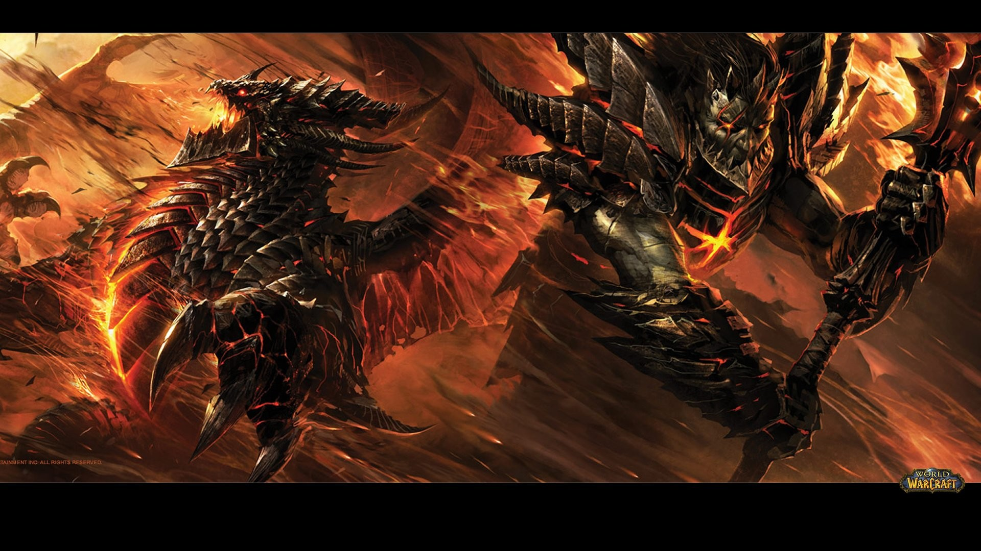 World Of Warcraft Backgrounds 1920x1080: Deathwing Wallpaper (76+ Images