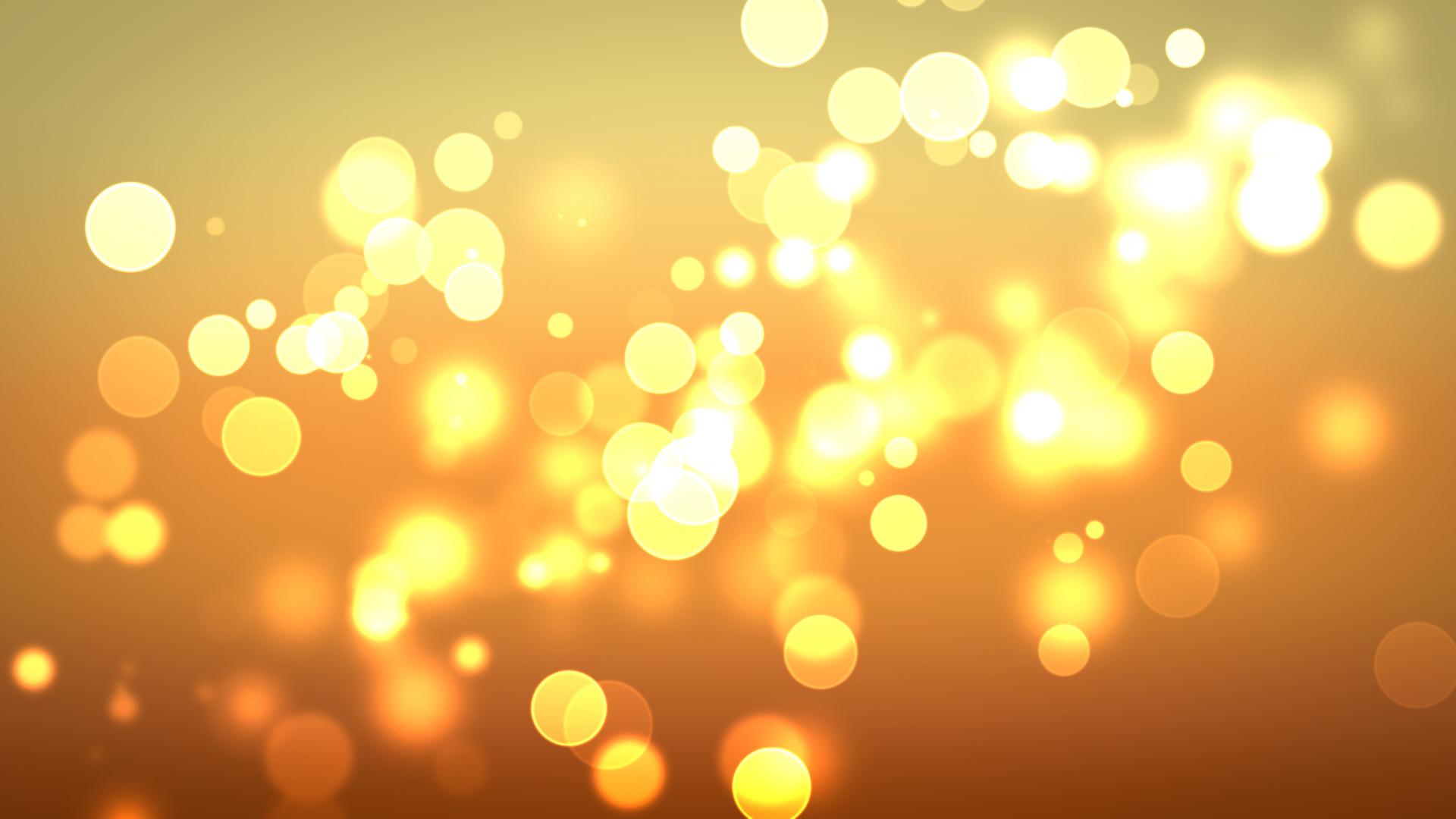 1920x1080 Download Golden Circles Of Light Wallpaper