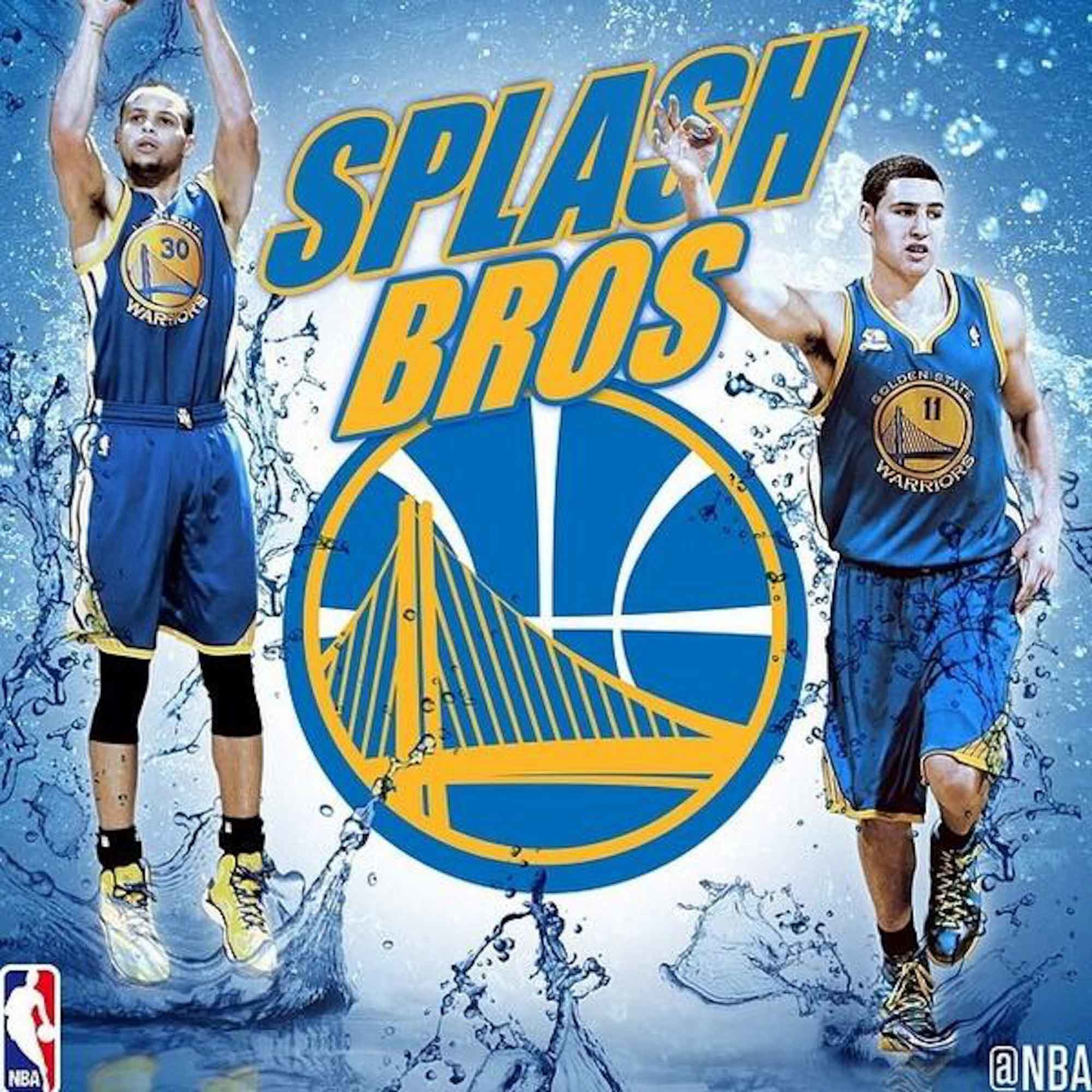 2000x2000 Splash Brothers Steph Curry & Klay Thompson.