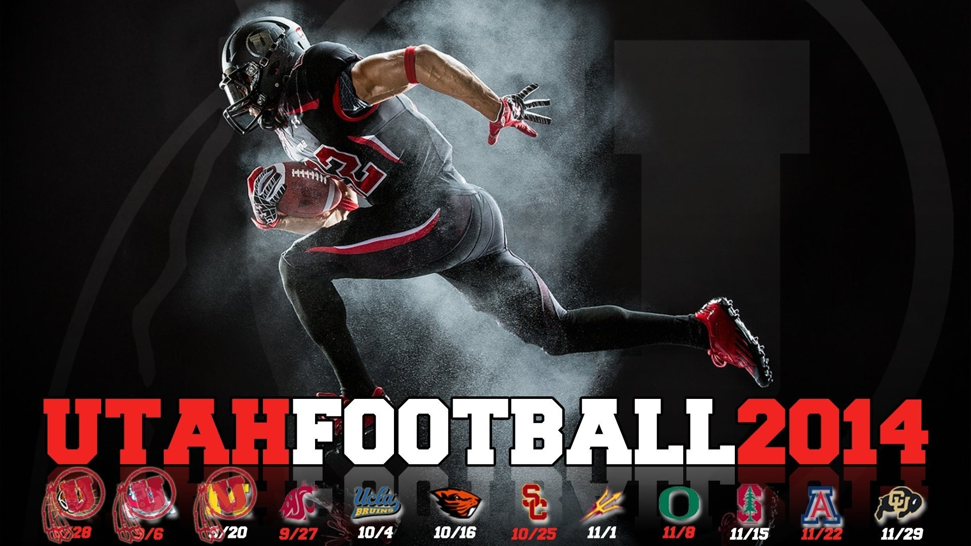 1920x1080 Utah Utes Wallpaper Background
