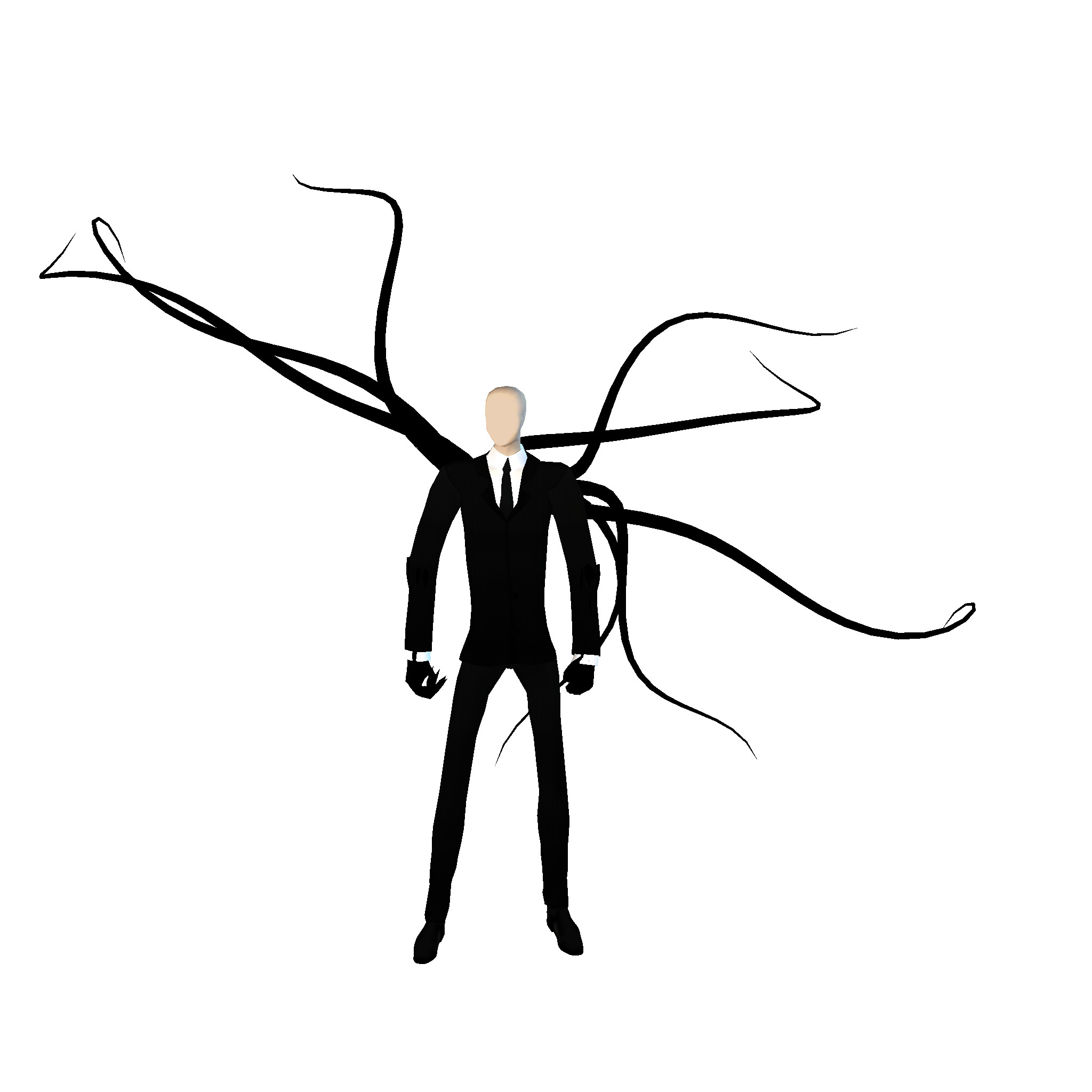 2048x2048 tentacle clipart The Slender Man Tentacle Horror Wallpaper #HD
