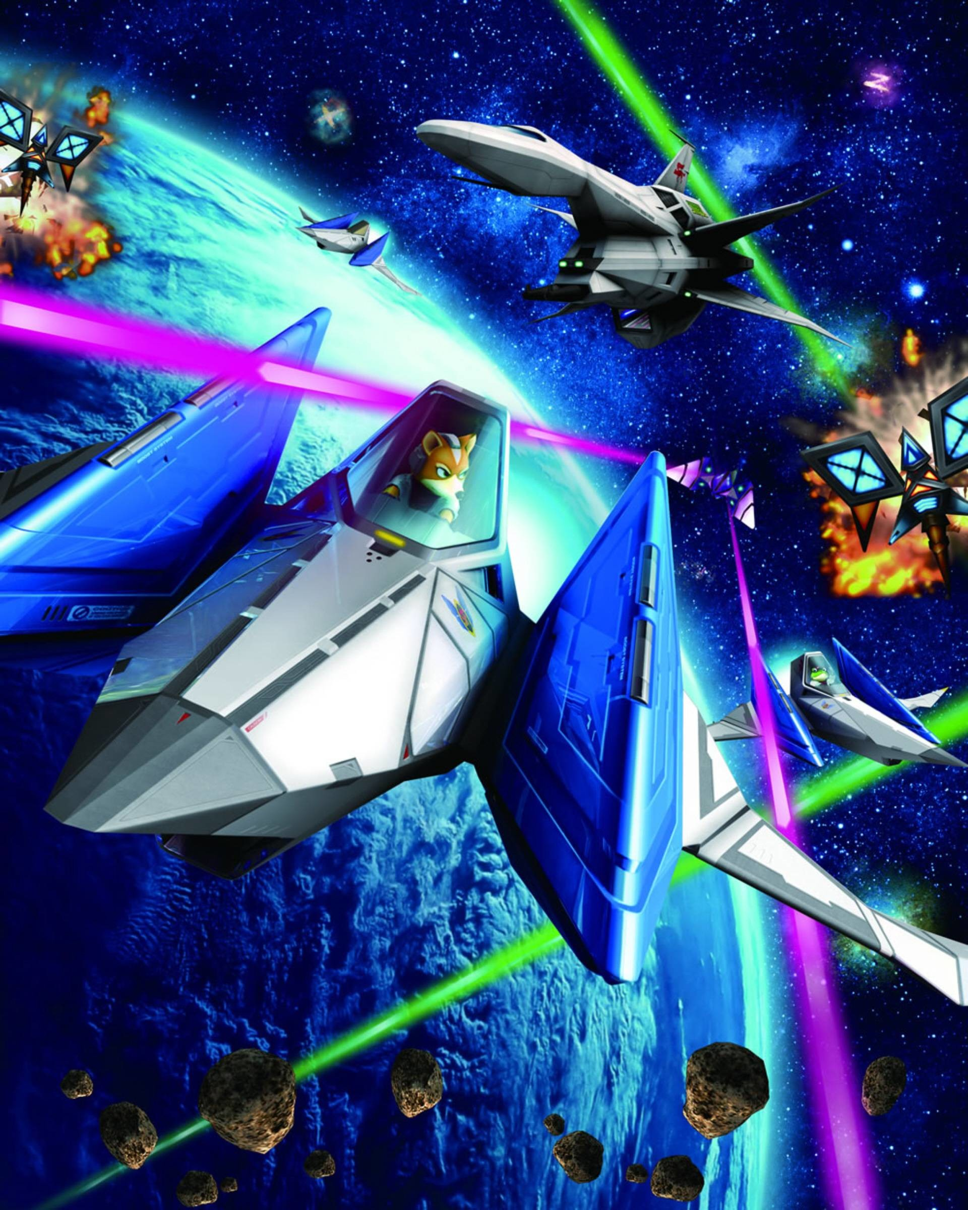 1920x2400 Star Fox Iphone Wallpaper