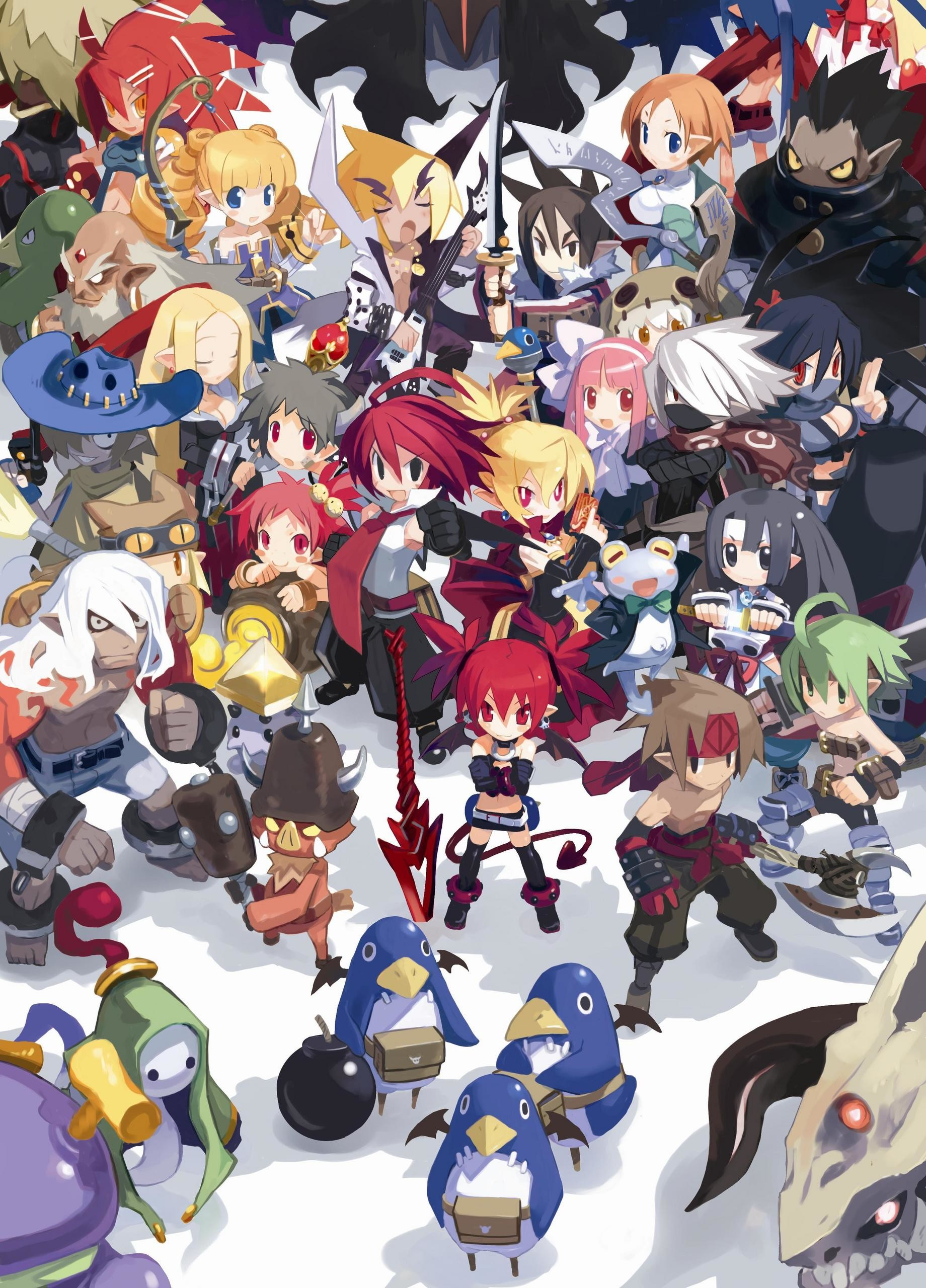 1840x2560 disgaea 2 images disgaea 2 cover HD wallpaper and background photos