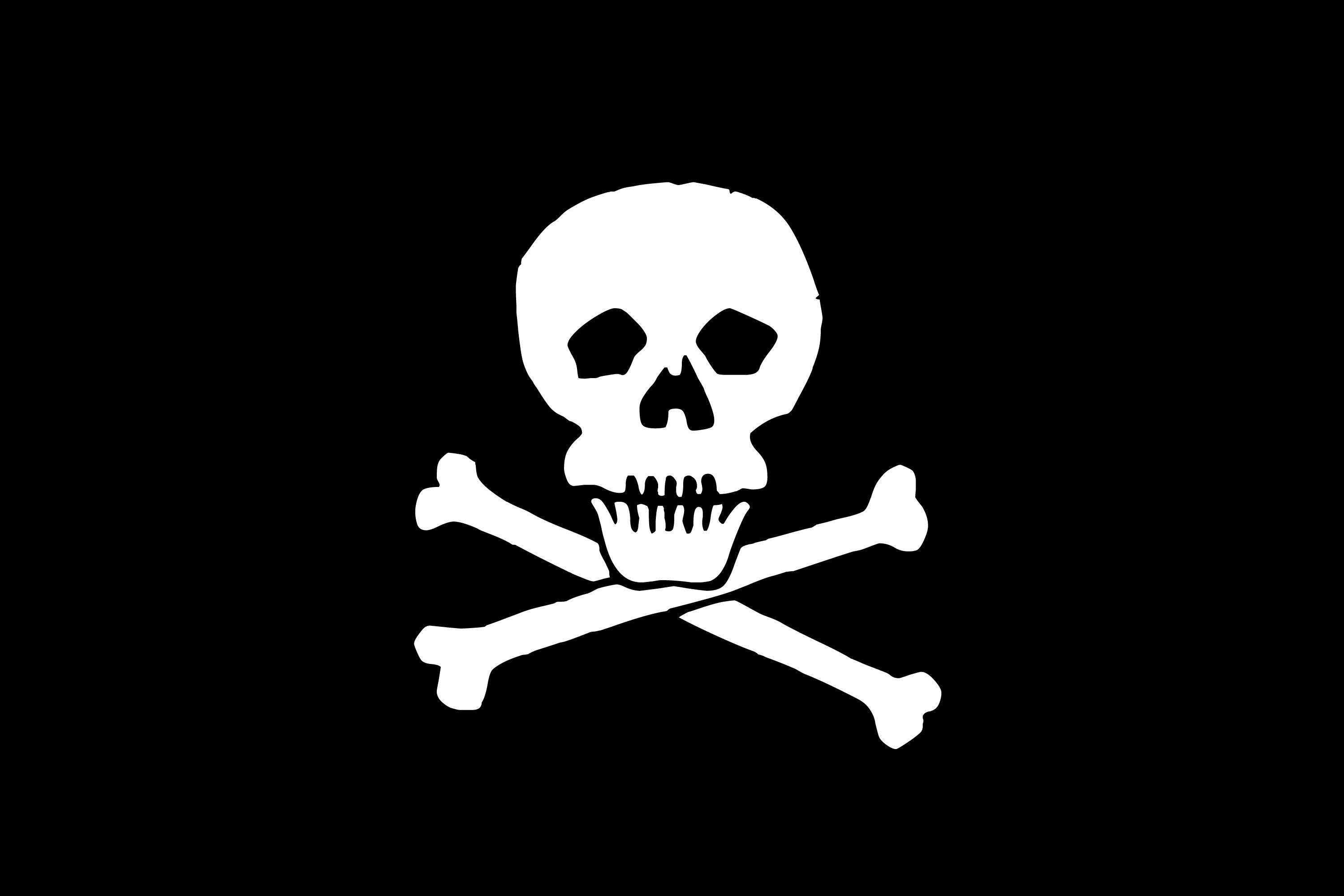 3000x2000 Skull-black-background #2424 | picttop.
