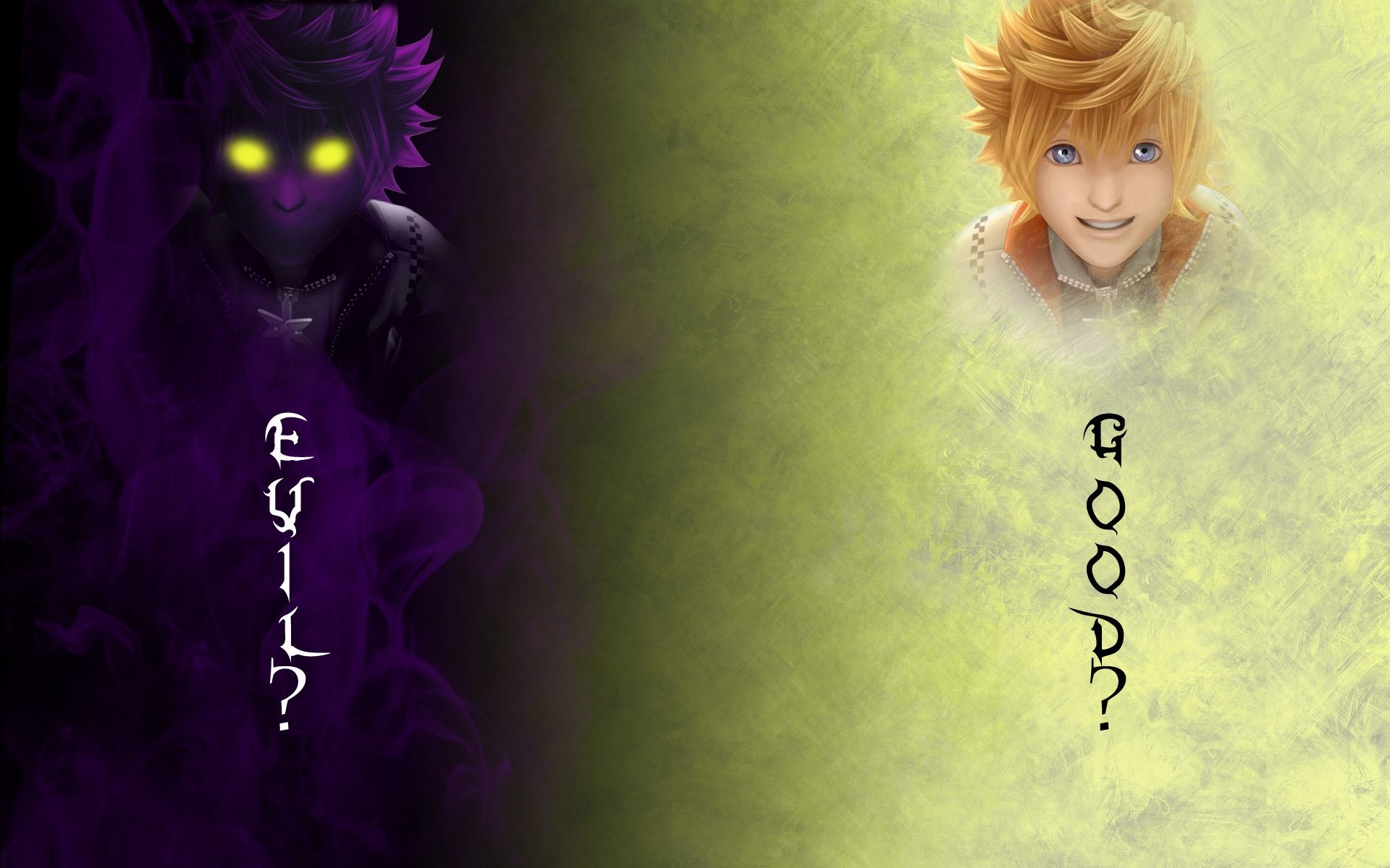 1920x1200 kingdom hearts roxas wallpapers wide
