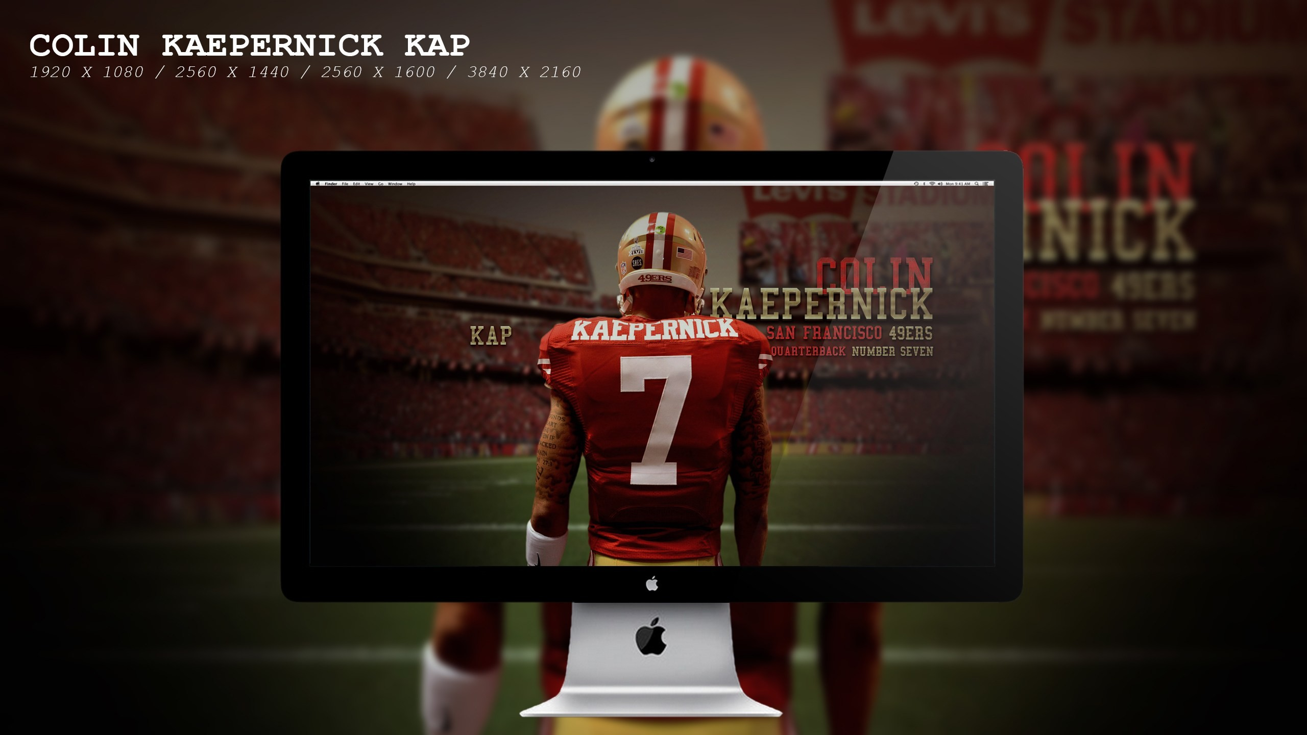 2560x1440 ... Great Colin Kaepernick Images Wallpaper Amazing free HD 3D wallpapers  collection-You can download best