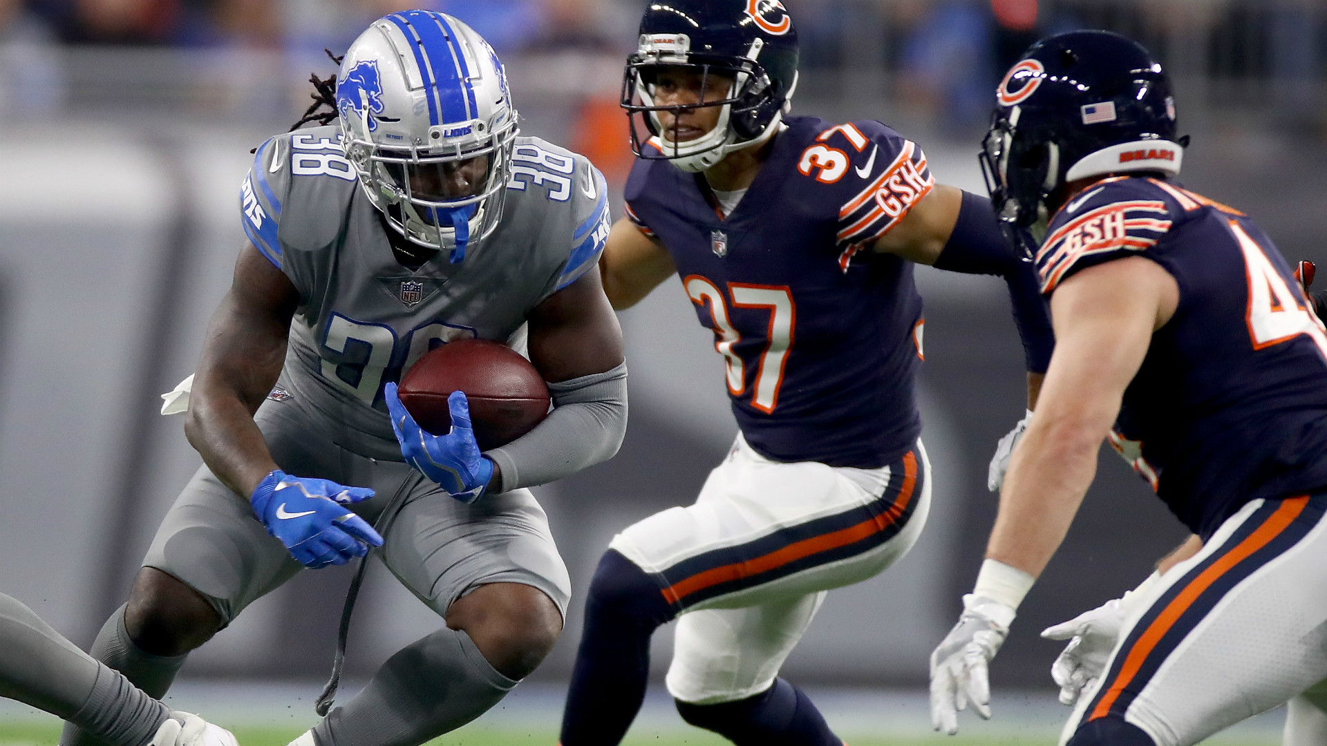 1920x1080 Highlights of the Detroit Lions' clash with the Chicago Bears in week 15 of  the NFL.