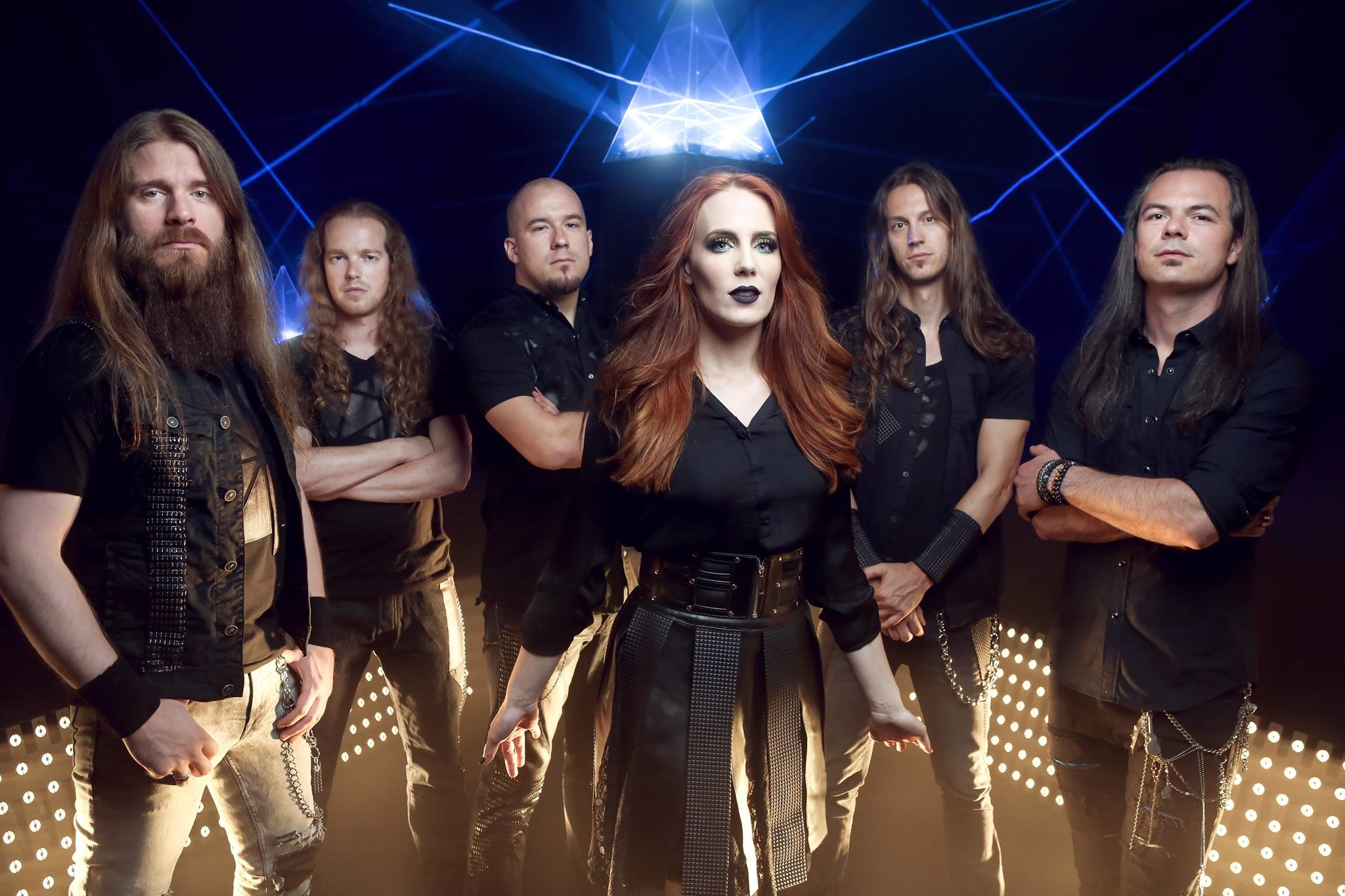 2048x1365 Epica have released the second episode of their documentary, which gives us  a look into the studio sessions for their upcoming album The Holographic ...