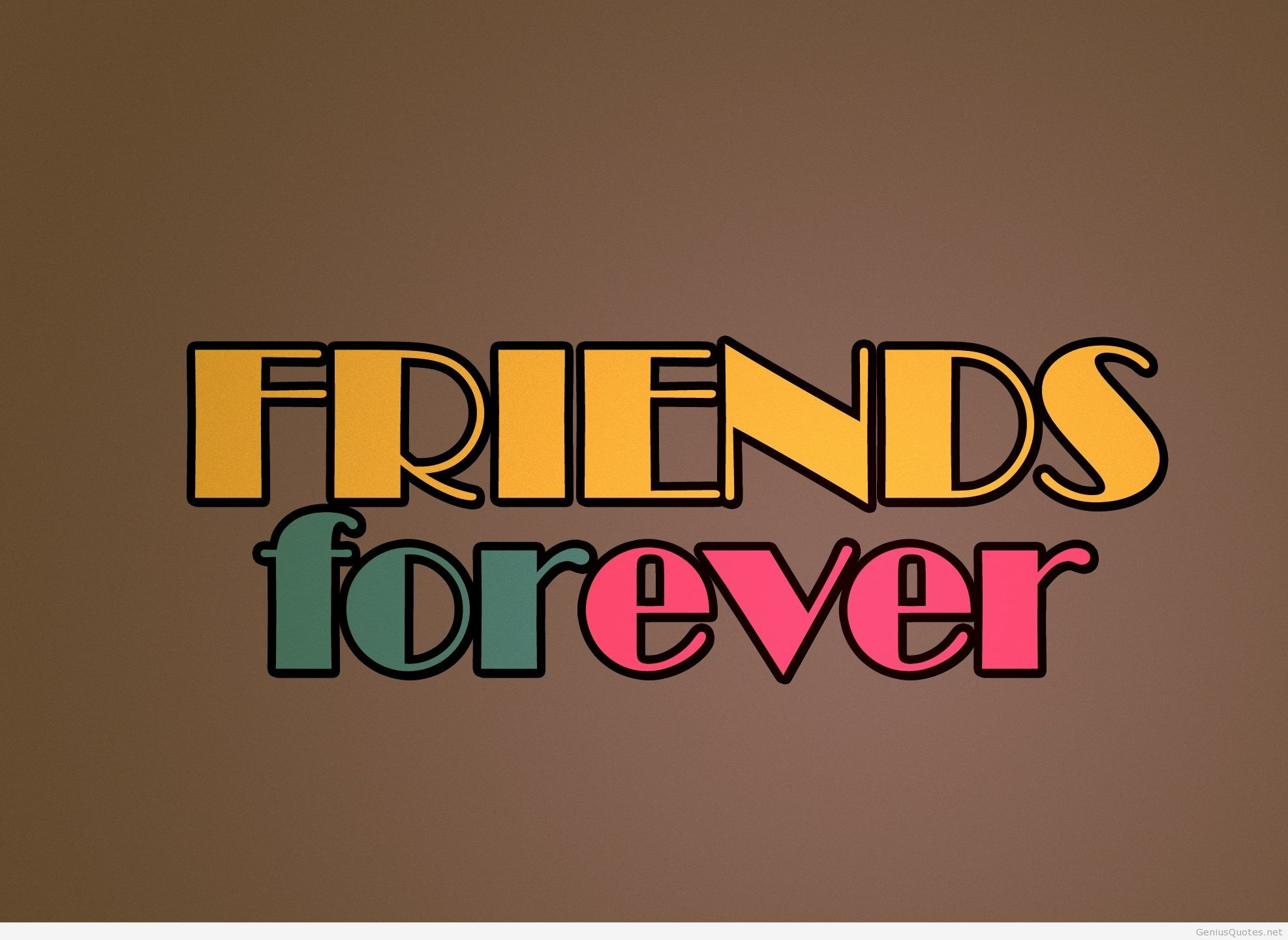 1974x1441 FRIENDS FOREVER, for all my friends free HD wallpaper