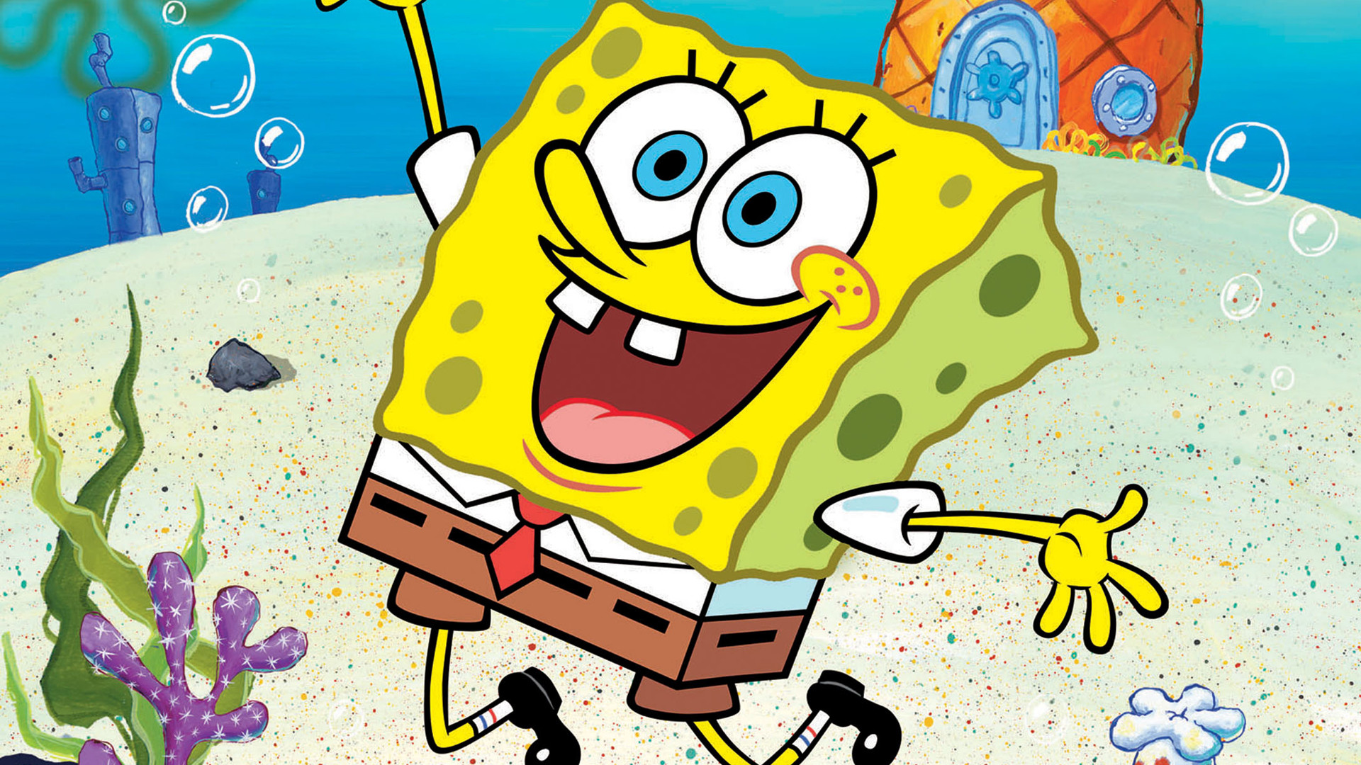 1920x1080 Spongebob Squarepants HD 7909