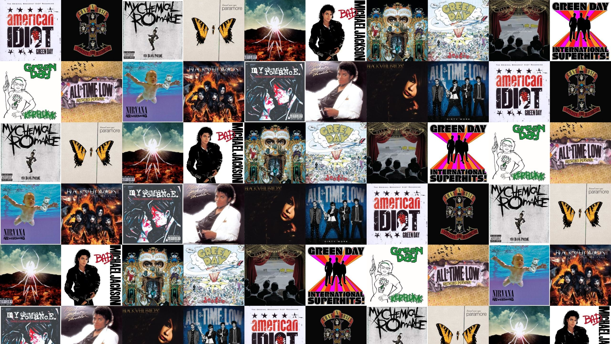 2560x1440 Green Day American Idiot Guns N Roses Appetite Wallpaper Â« Tiled Desktop  Wallpaper