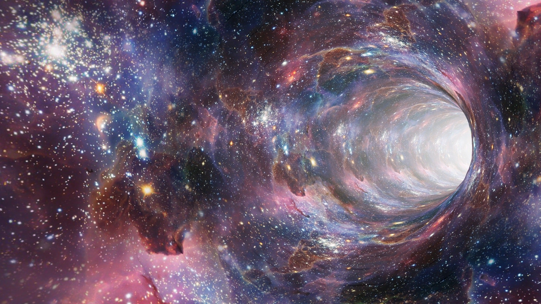 2048x1152 Wormhole Time Travel Portal Vortex - Image #1848 - Licence: Creative  Commons CC0 –