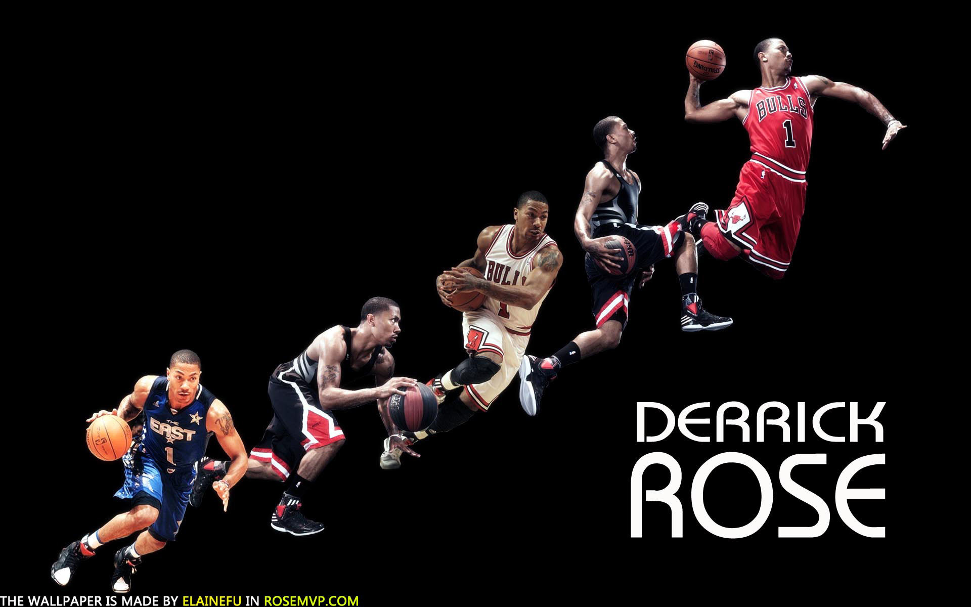1920x1080 With LeBron James Out Dwyane Wade And Derrick Rose Turn Back Clock