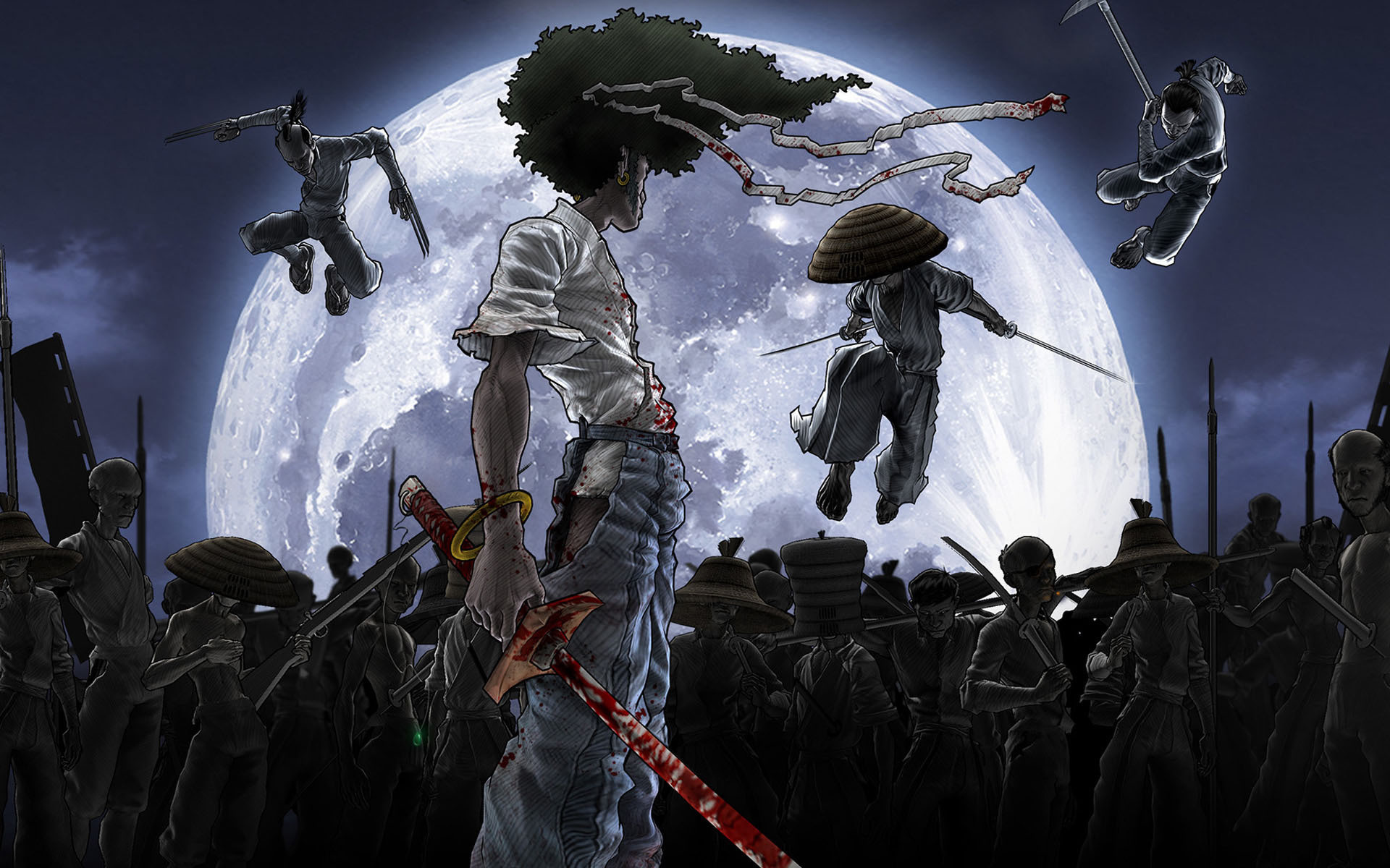 1920x1200 afro samurai resurrection wallpaper Afro Samurai Resurrection Wallpaper, 37  Afro Samurai Resurrection Images and Wallpapers