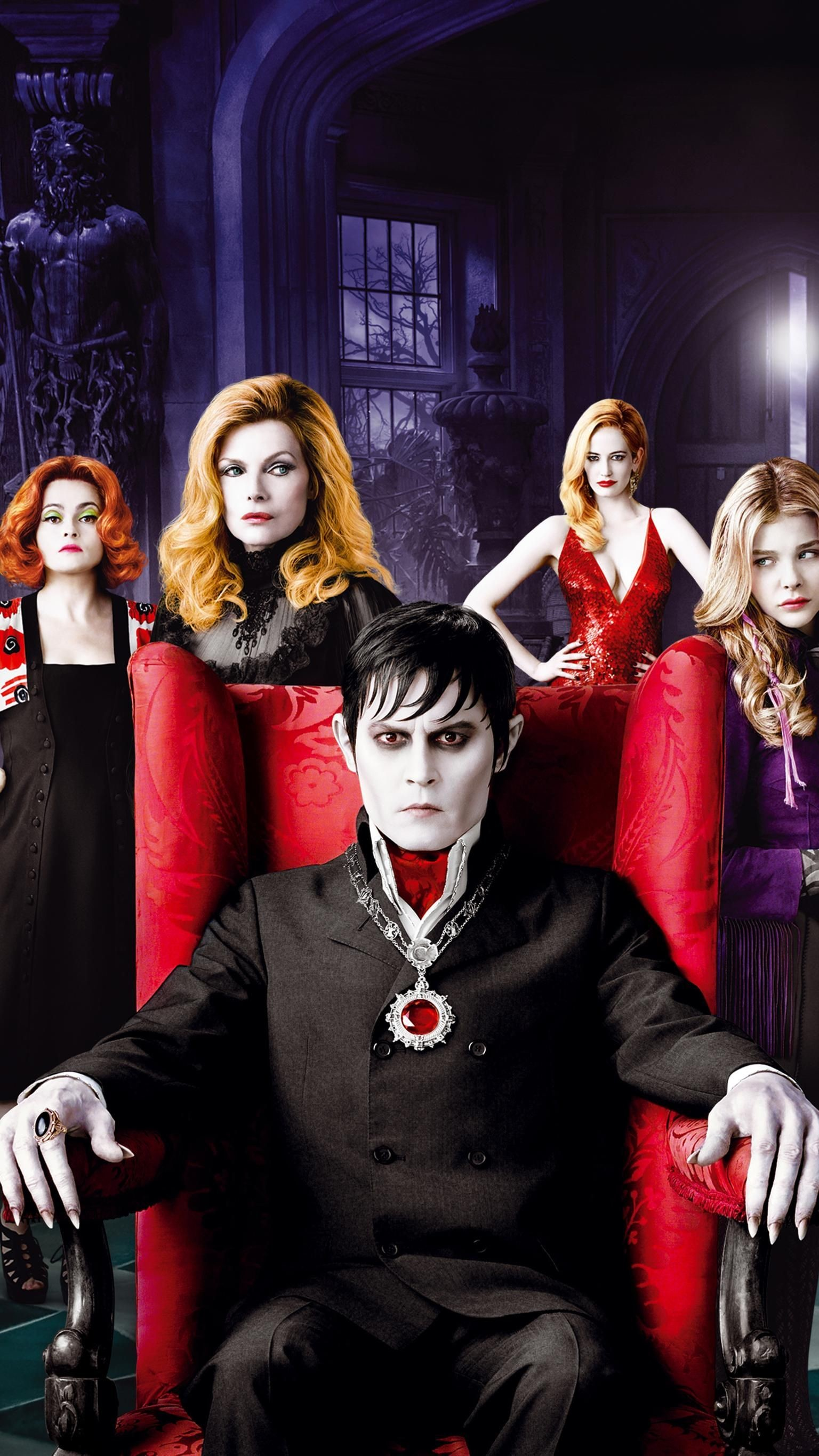 1536x2732 Dark Shadows (2012) Phone Wallpaper | Moviemania