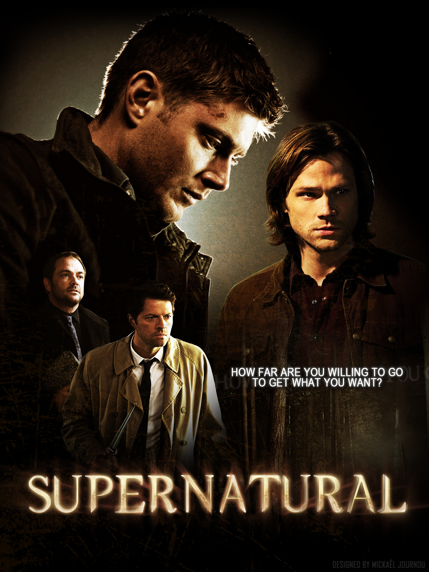 1500x2000 Supernatural Season 8 Poster by FastMike Supernatural Season 8 Poster by  FastMike