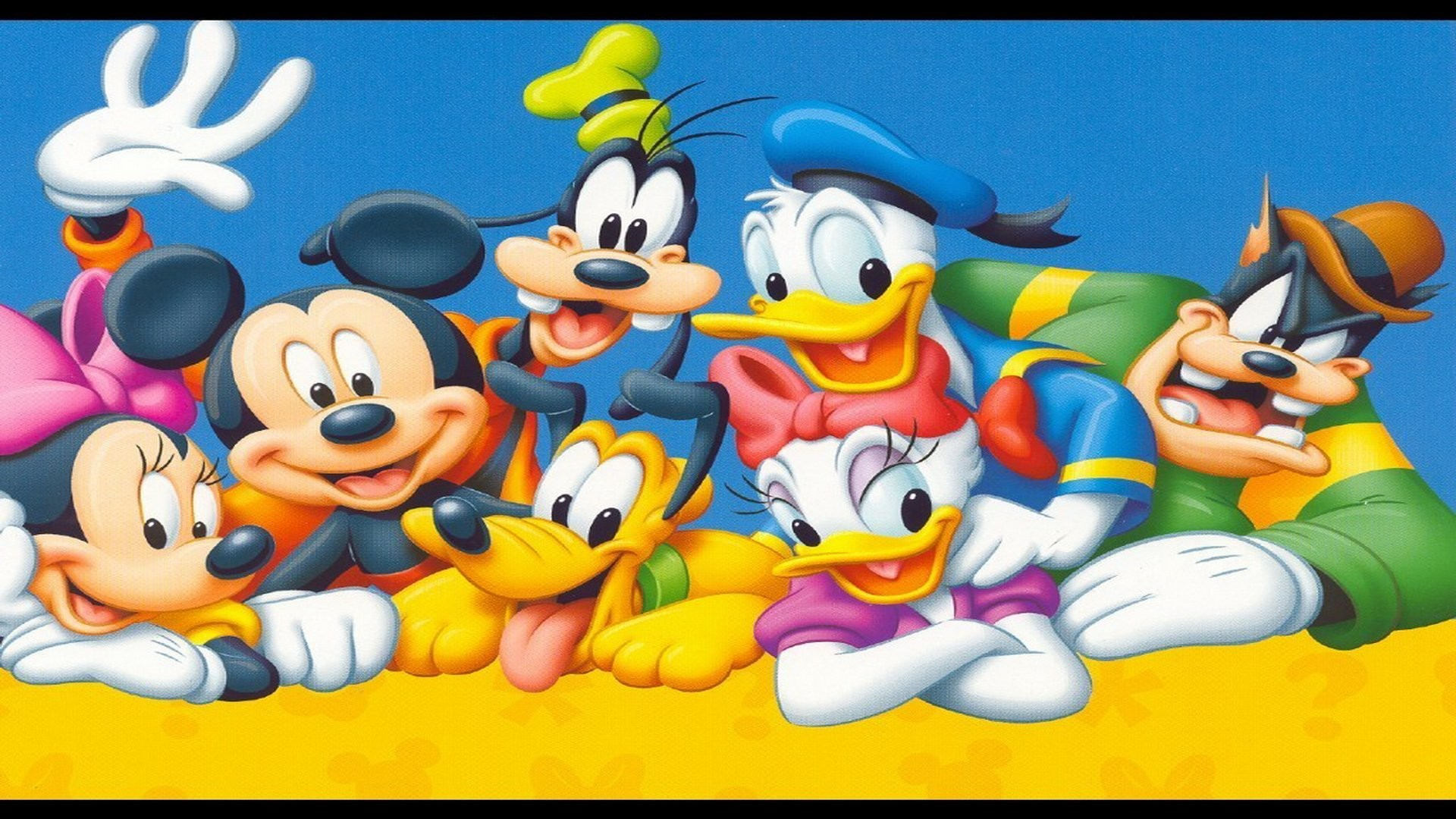 1920x1080 Mickey Mouse And Friends Wallpaper