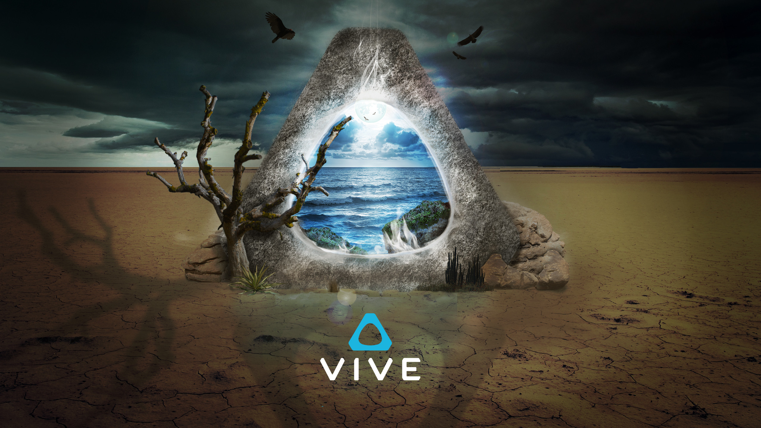 2560x1440 Made another Vive wallpaper for you all ...