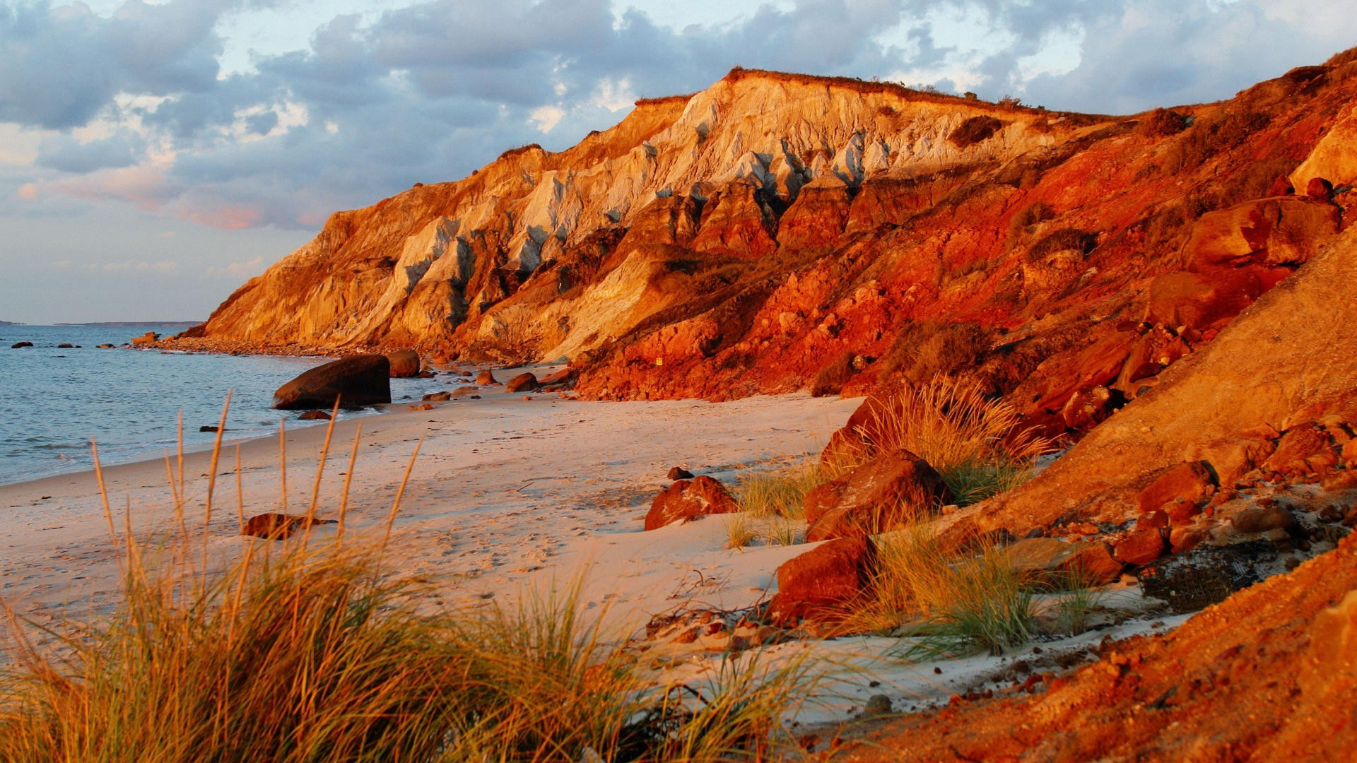 1920x1080 Nature head cliffs vineyard Massachusetts beaches wallpaper |  |  183680 | WallpaperUP