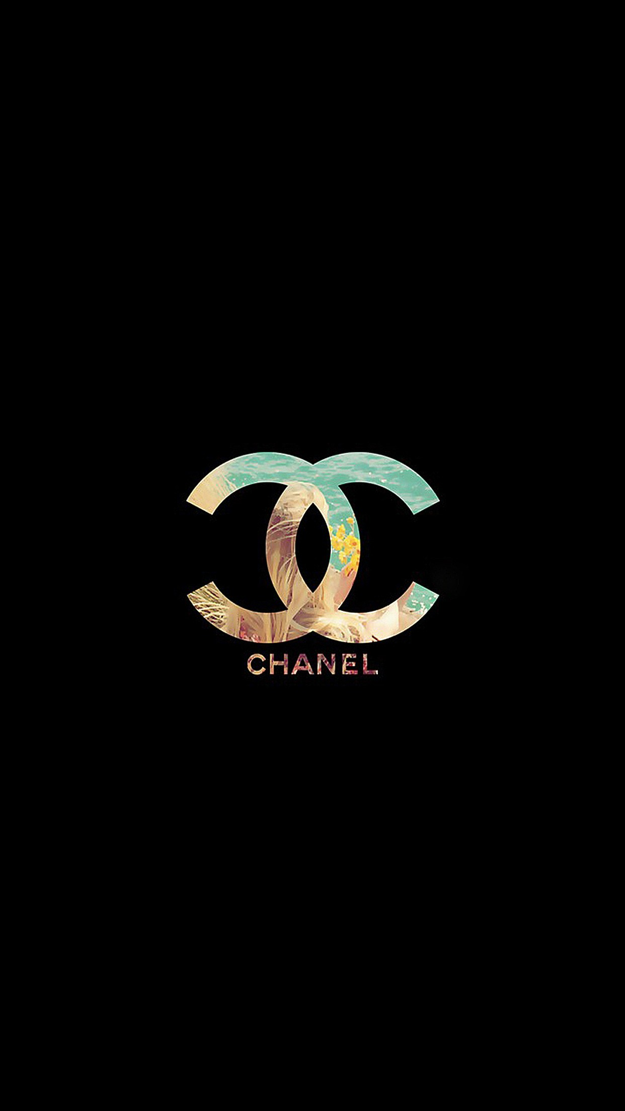 1242x2208 Chanel ☆ Find more fashionable wallpapers for your +