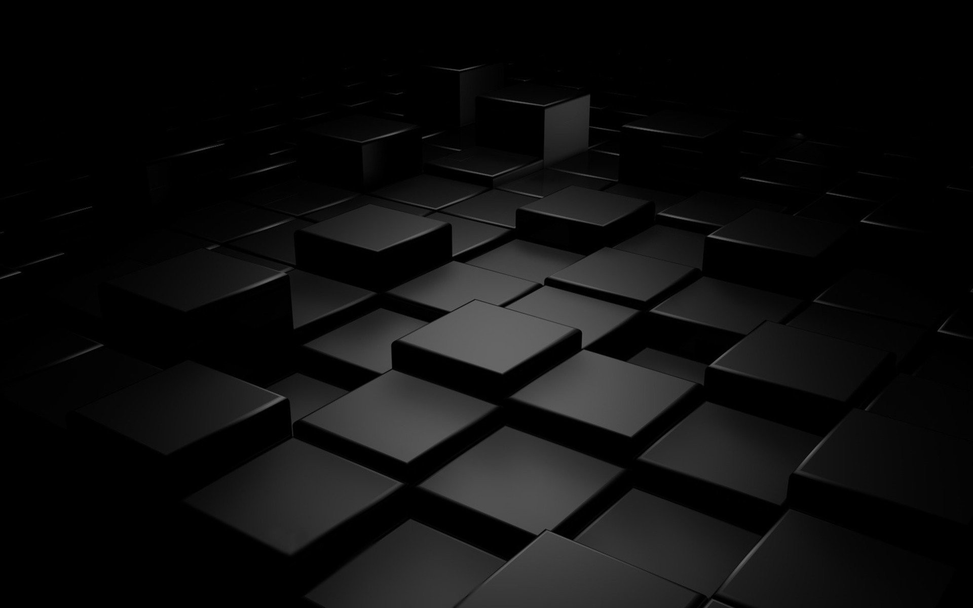 1920x1200 Plain Black 3D 3 Desktop Wallpaper - Hdblackwallpaper.com