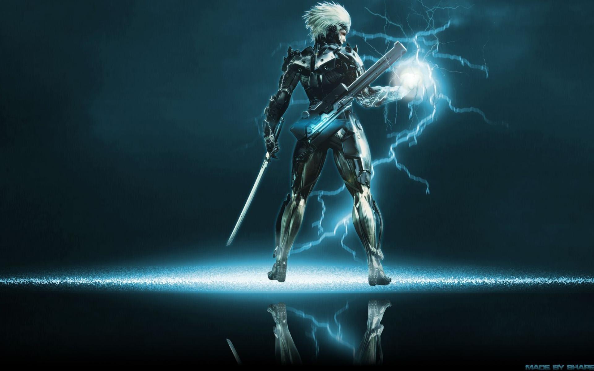 Raiden Mgs2 Hd Raiden Metal Gear Wall...