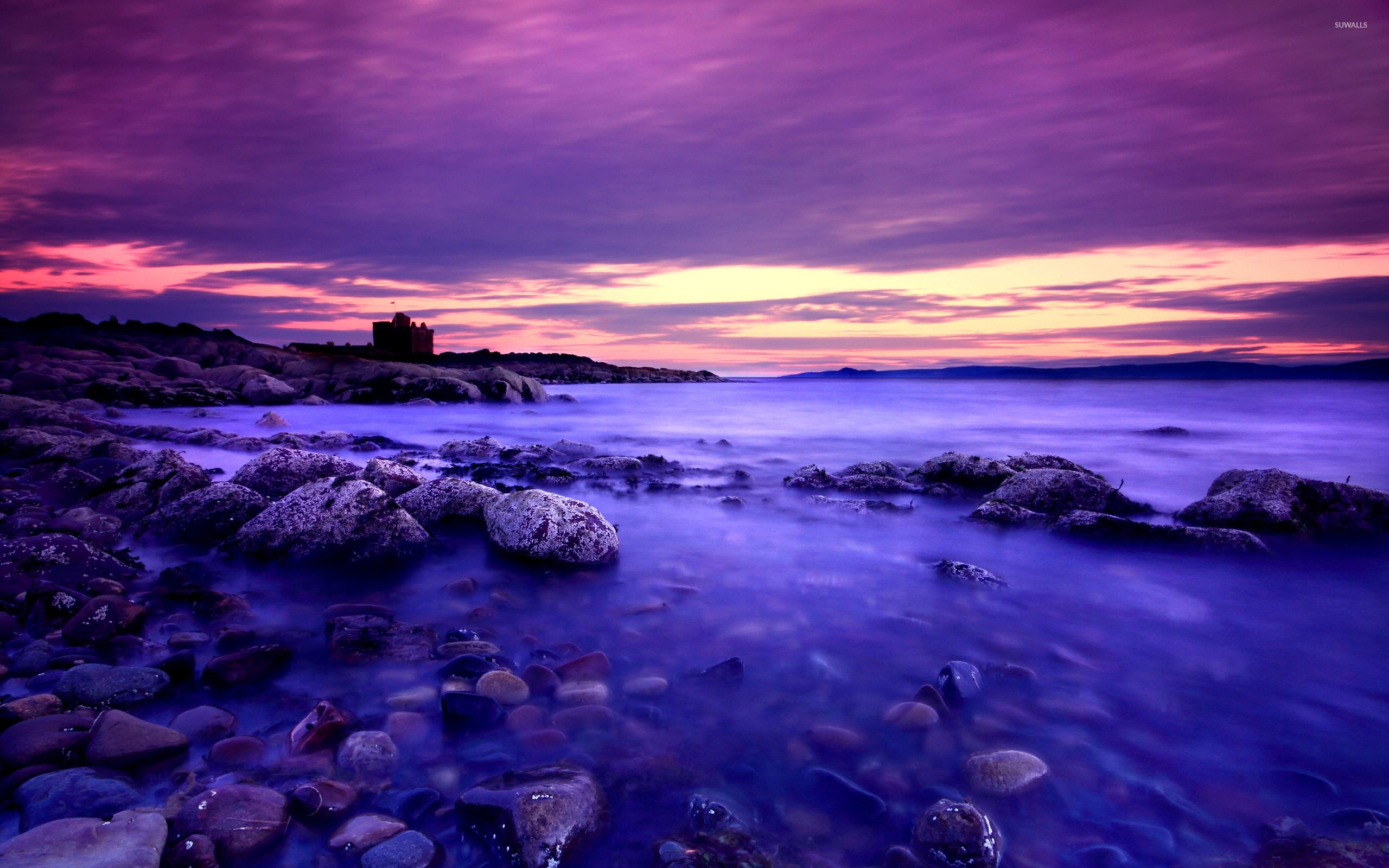 Purple Scenery Wallpaper 61 Images