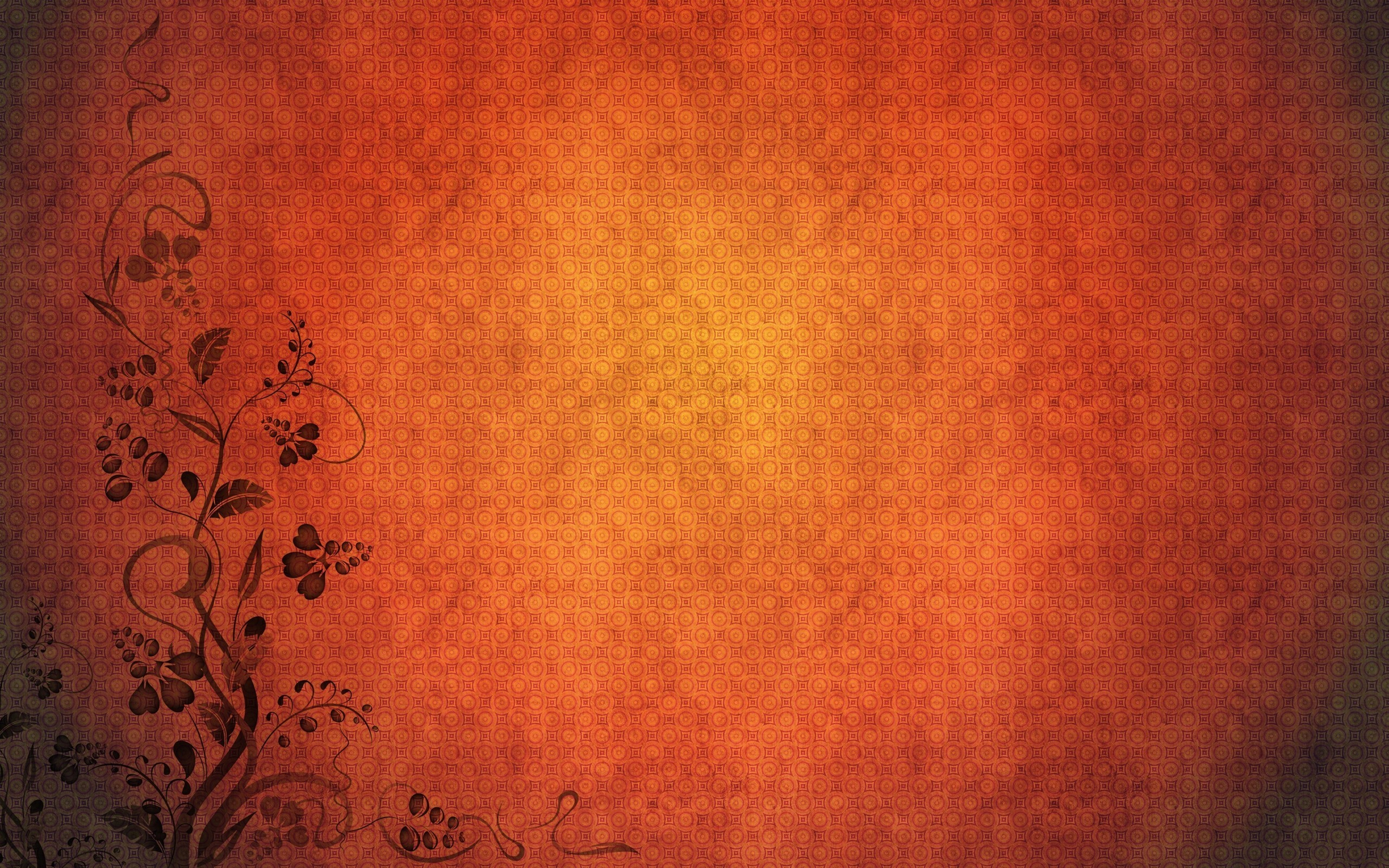 2560x1600 Minimalistic orange patterns simple background textures wallpaper