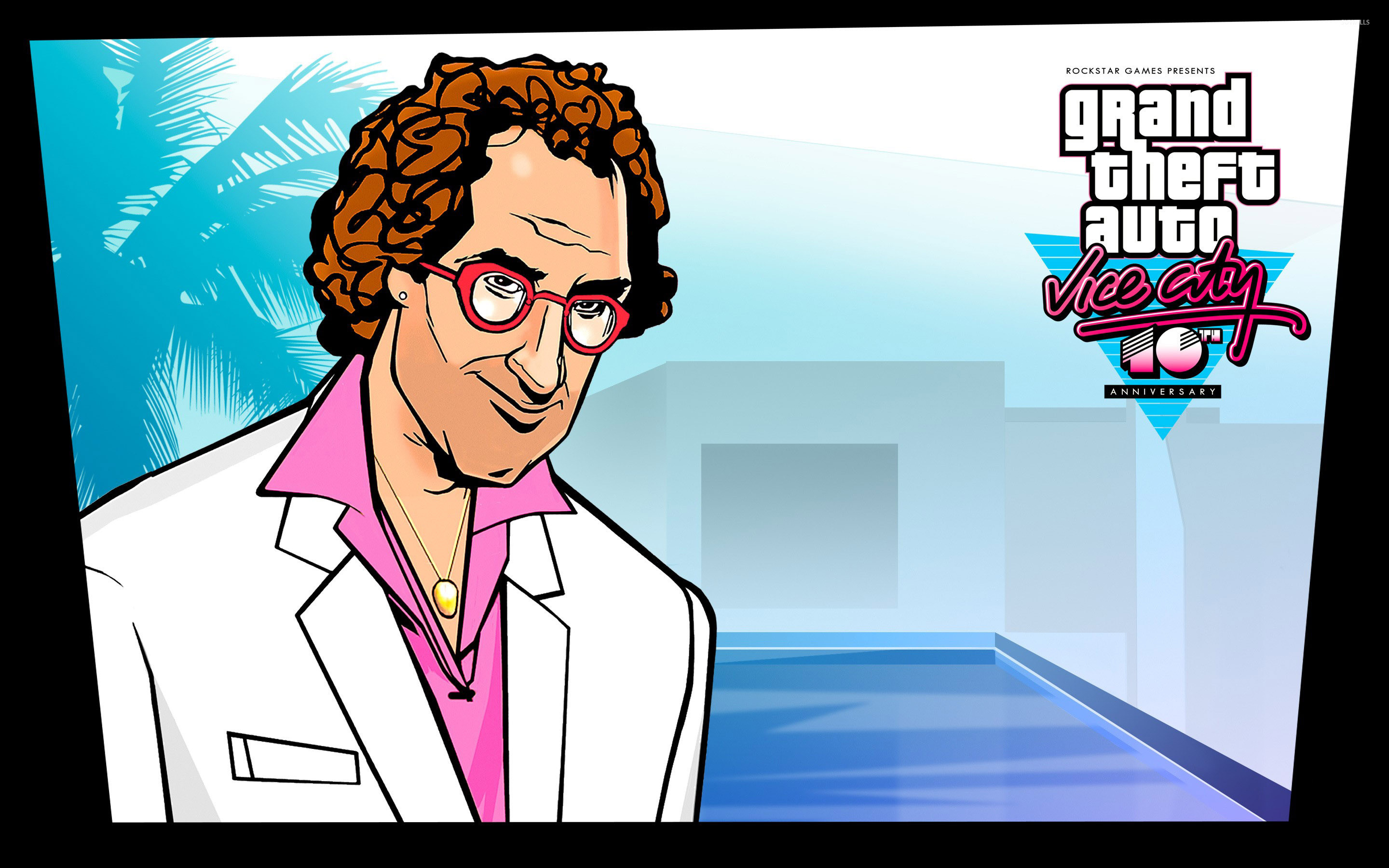 2880x1800 Ken Rosenberg at Vice City 10th Anniversary wallpaper