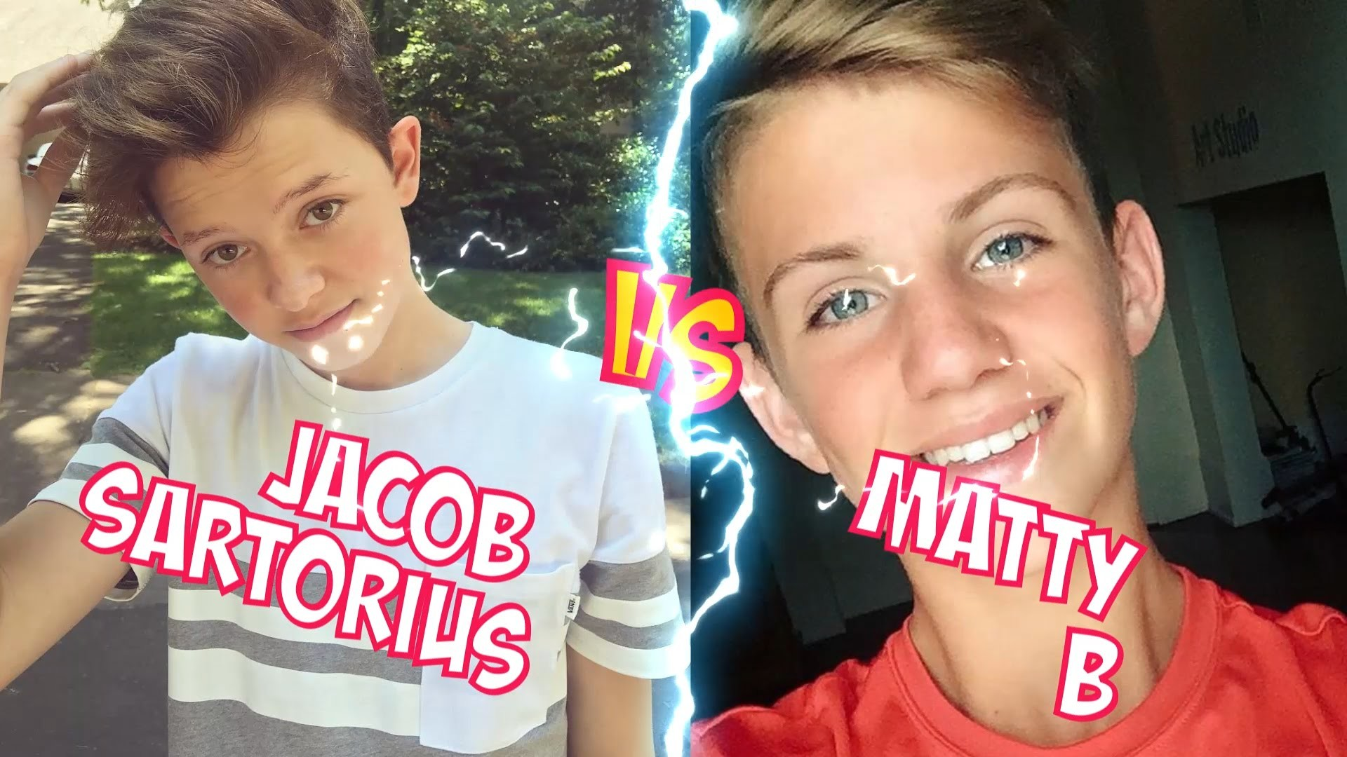 1920x1080 Jacob Sartorius VS MattyB l Battle